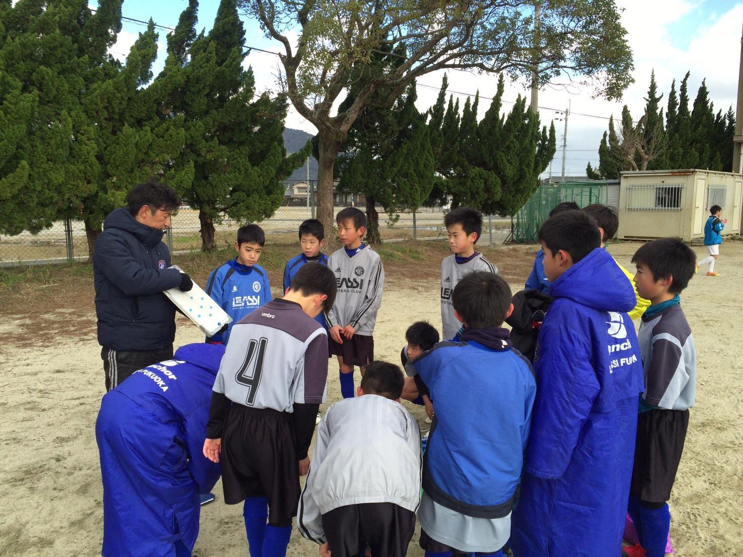 レアッシジュニア 育成U-12 トレーニングマッチ in 加布里小学校