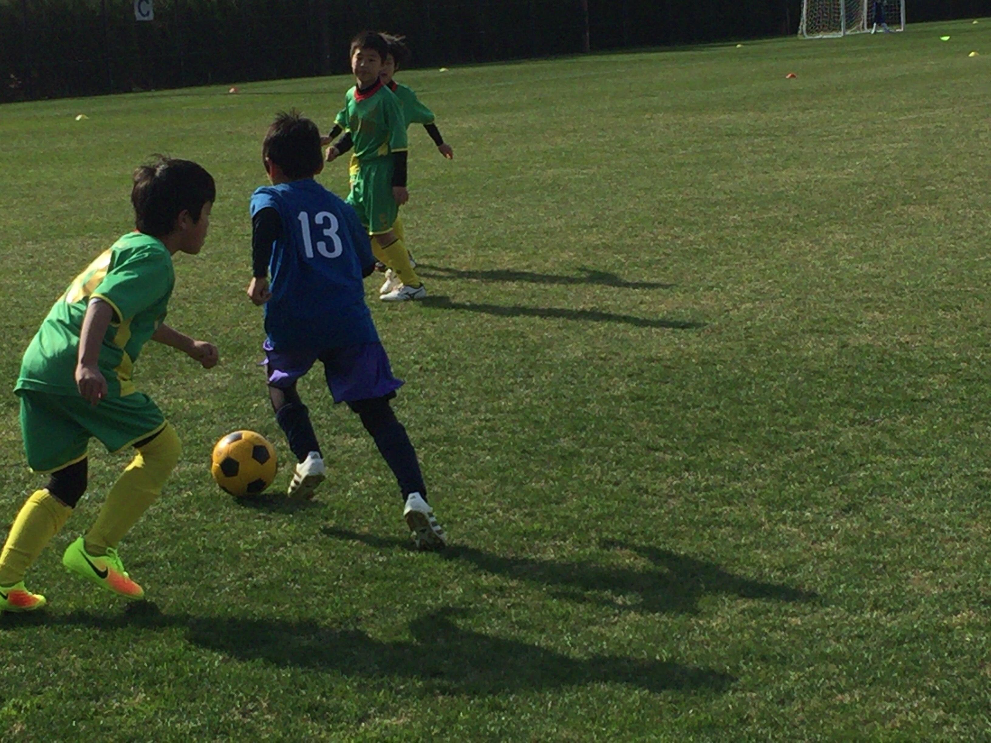 U-15 福岡支部リーグ・前期 第1-2節 vs ラパシオン2nd、ホーリーグラウンド戦