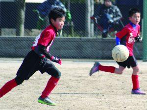 U-10 トレーニングマッチ vs東福岡