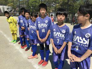 U-11 3rd 福岡支部4部リーグ・Eパート 開幕! 第1.2節 vs片江、早良 試合結果