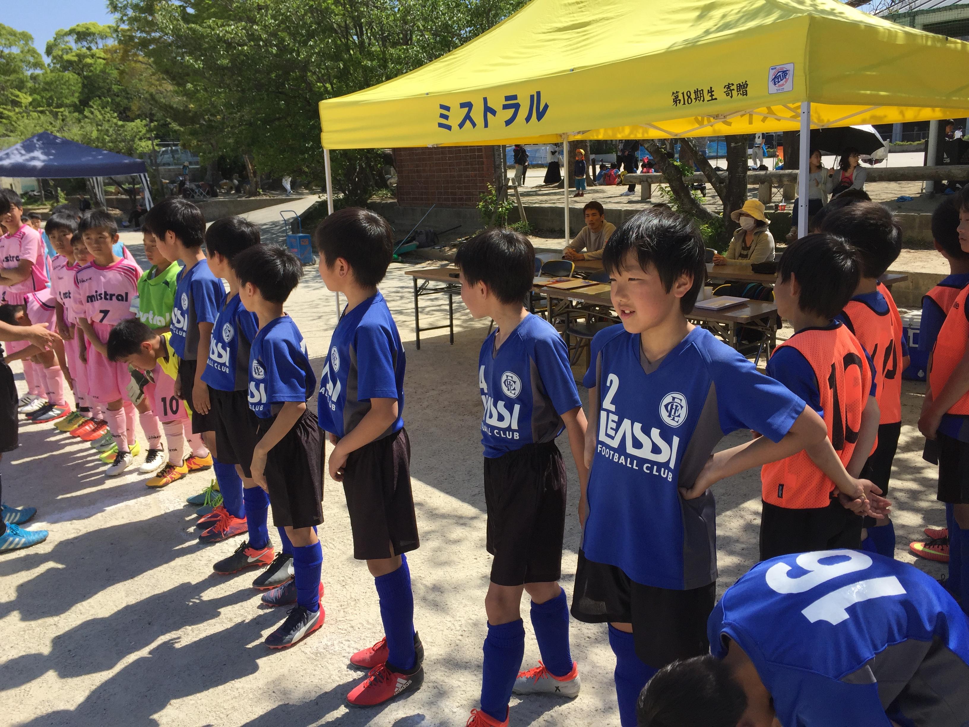 U-11・2nd 福岡支部4部リーグ 第3,4節 結果速報