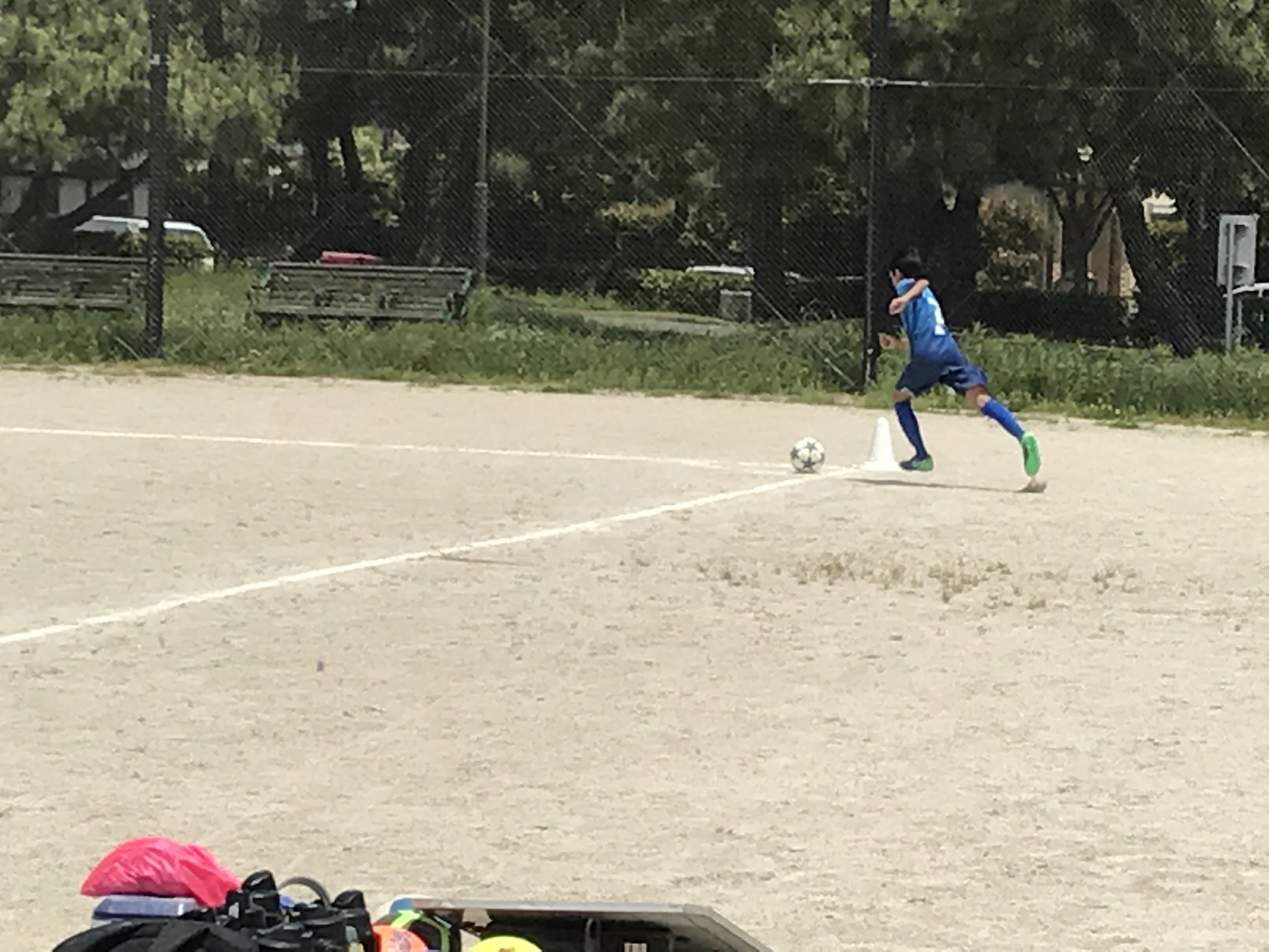 U-12セカンド練習試合(雁ノ巣)