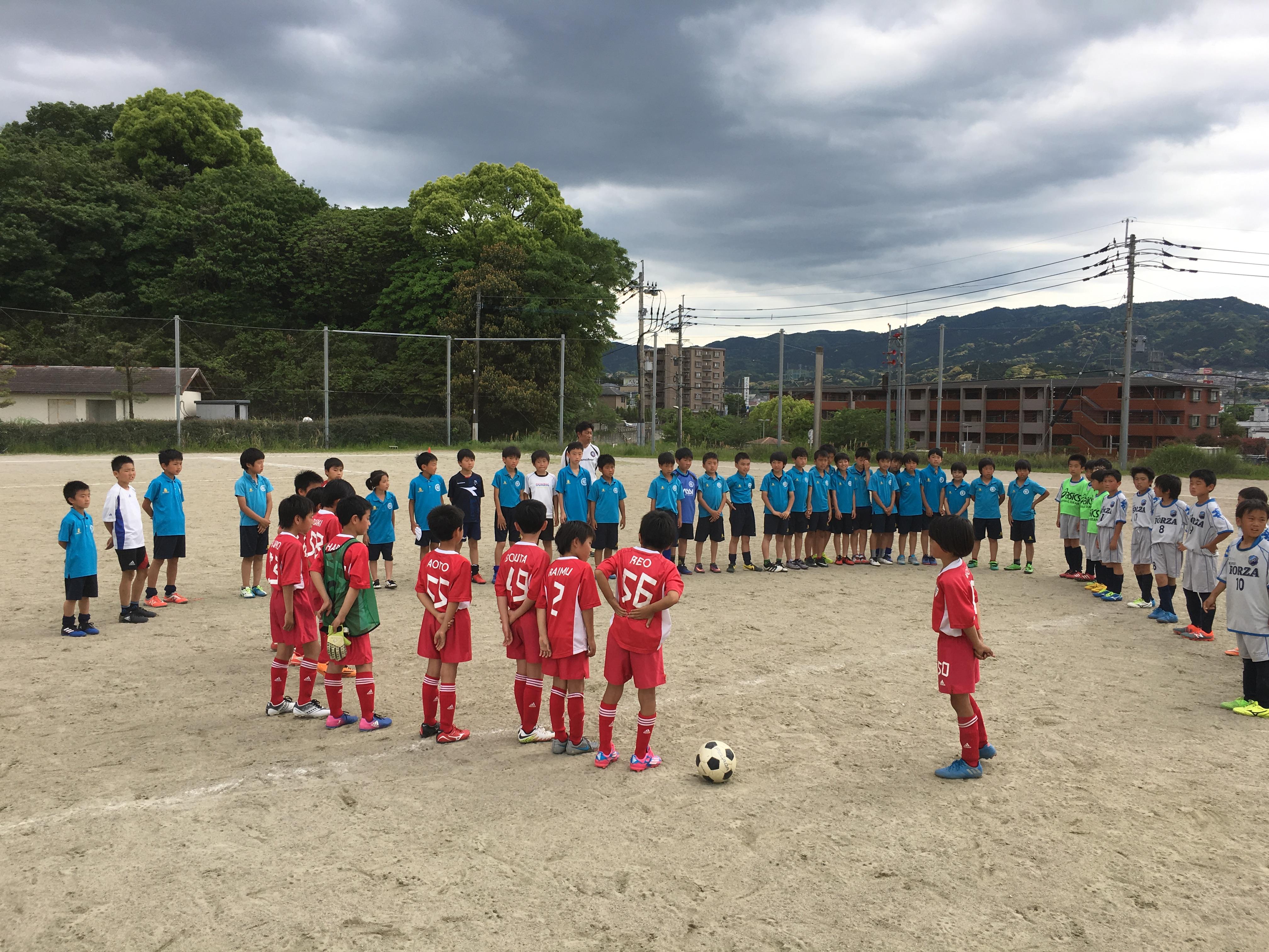 vs 小笹、開成FORZA FC(佐賀) U-11(小学5年生)1st・2nd 練習試合