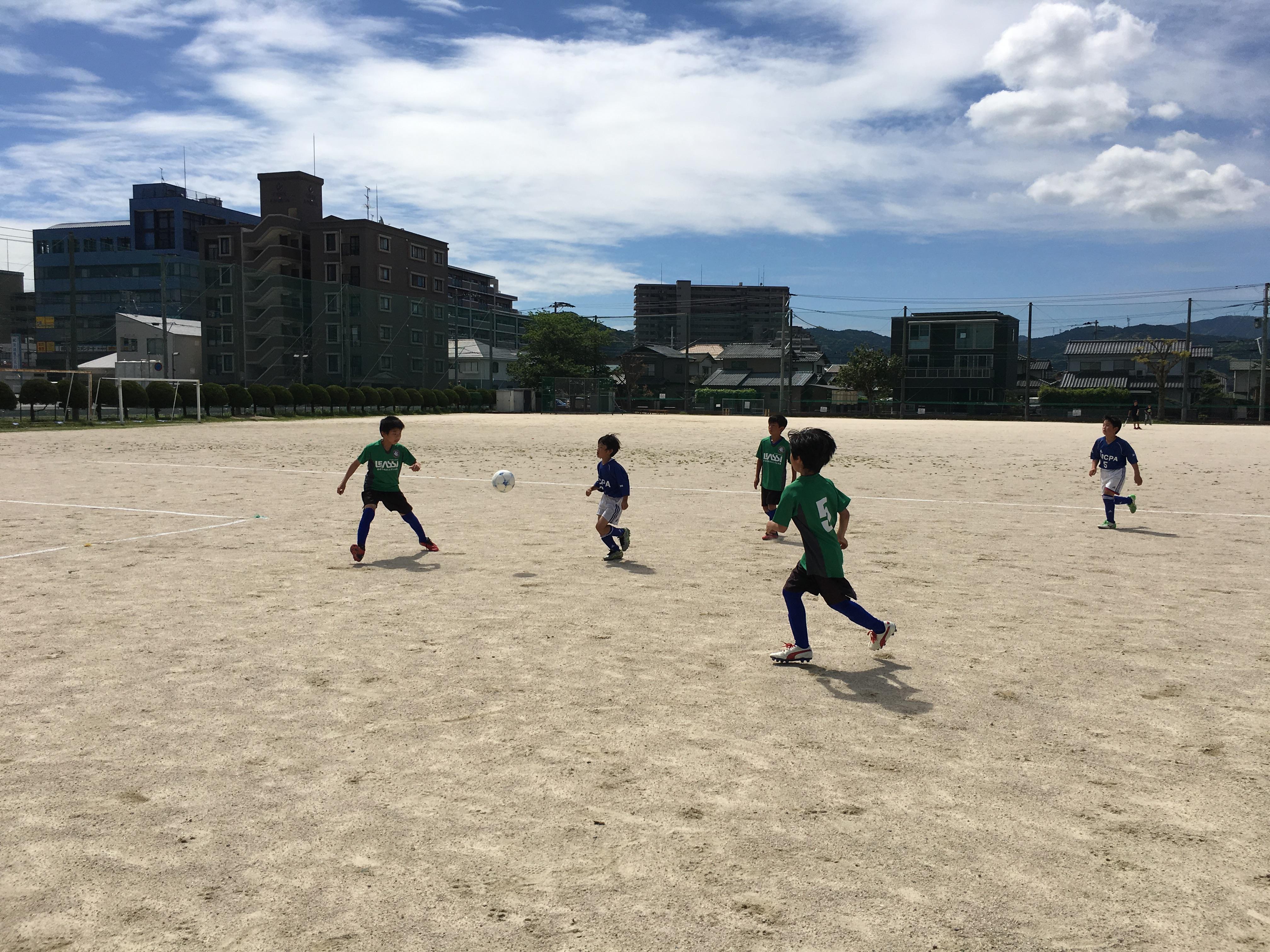 vs 小笹 戦術的な負荷をかけて練習試合 U-12(小学6年生)ファーストチーム