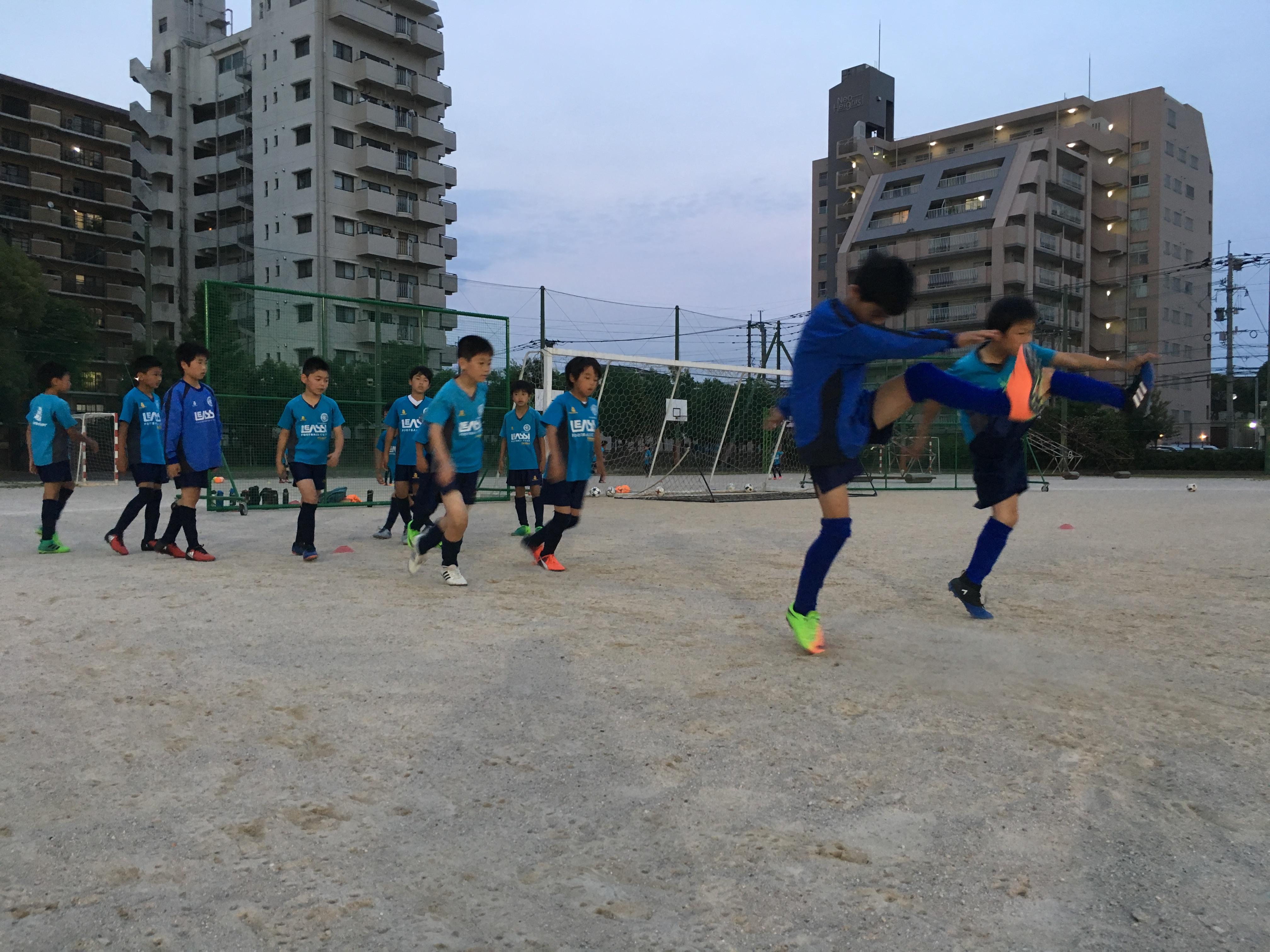 アビスパ福岡、J-WIN戦に向けて 〜U-11・1stチーム 福岡支部1部リーグ〜