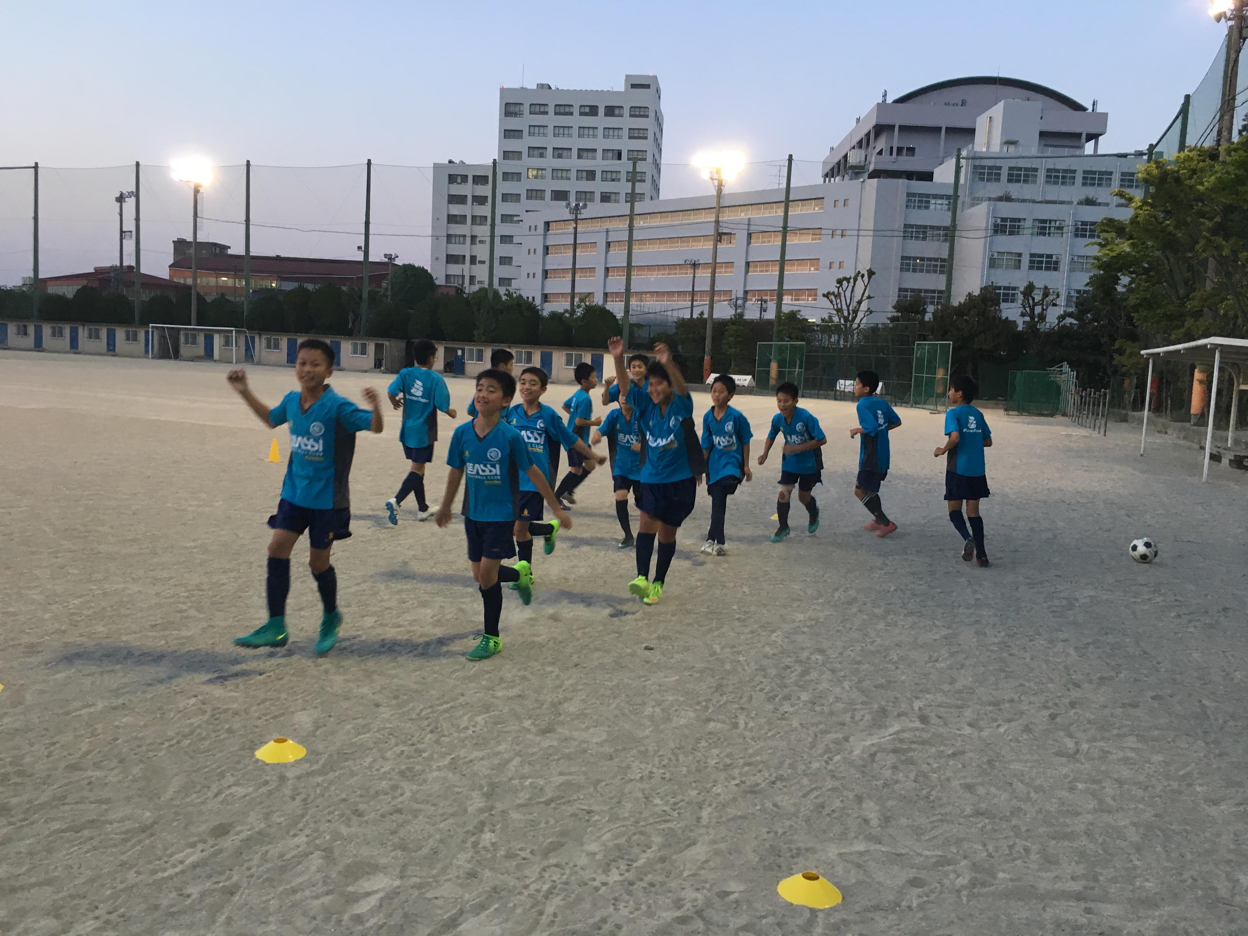U-13 福岡県ユースサッカーリーグへ向けて