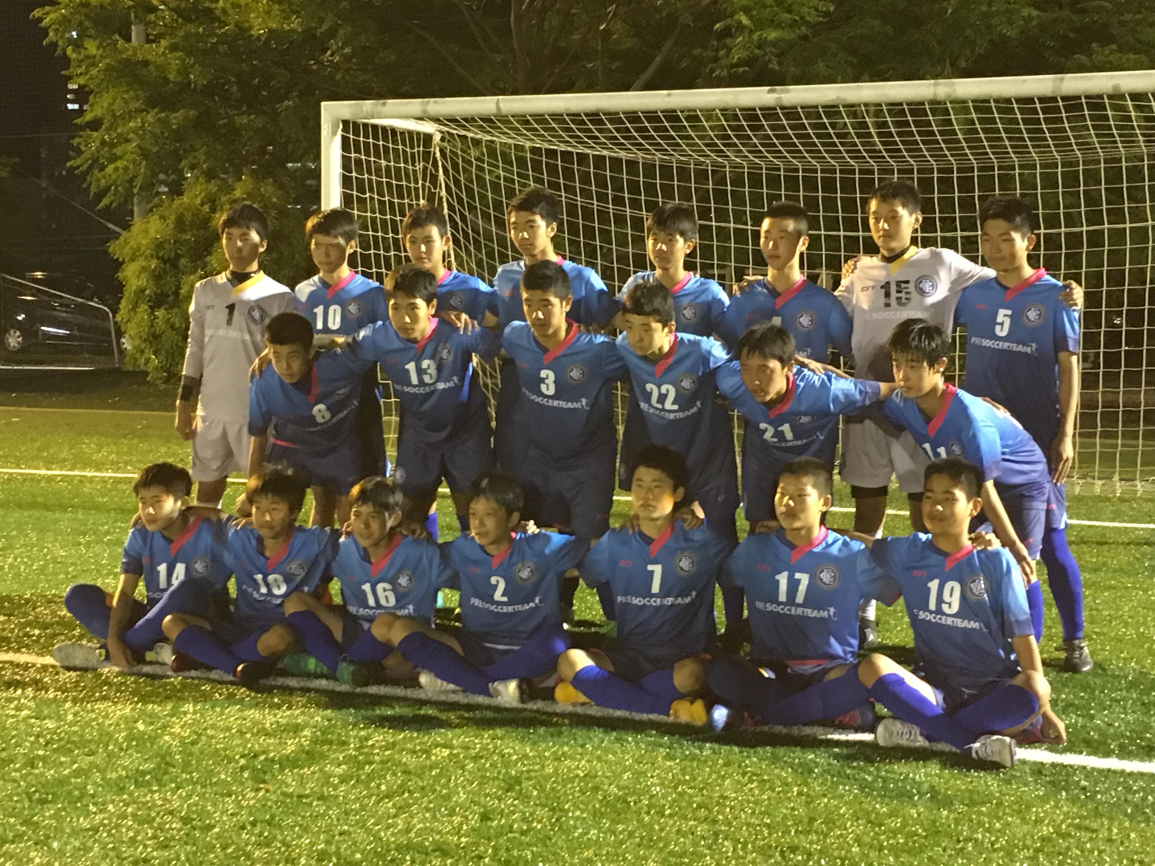 レアッシ福岡FC・U-15チーム 福岡県ユース サッカーリーグ 県3部 Bグループ 星取表-大混戦の上位争い-