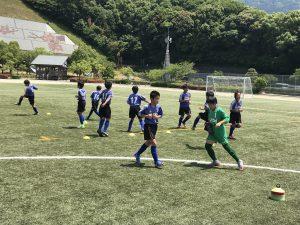 U-12(小学6年生) TRM  vs 香椎東【福岡支部】-梅林アスレチックスポーツ公園-