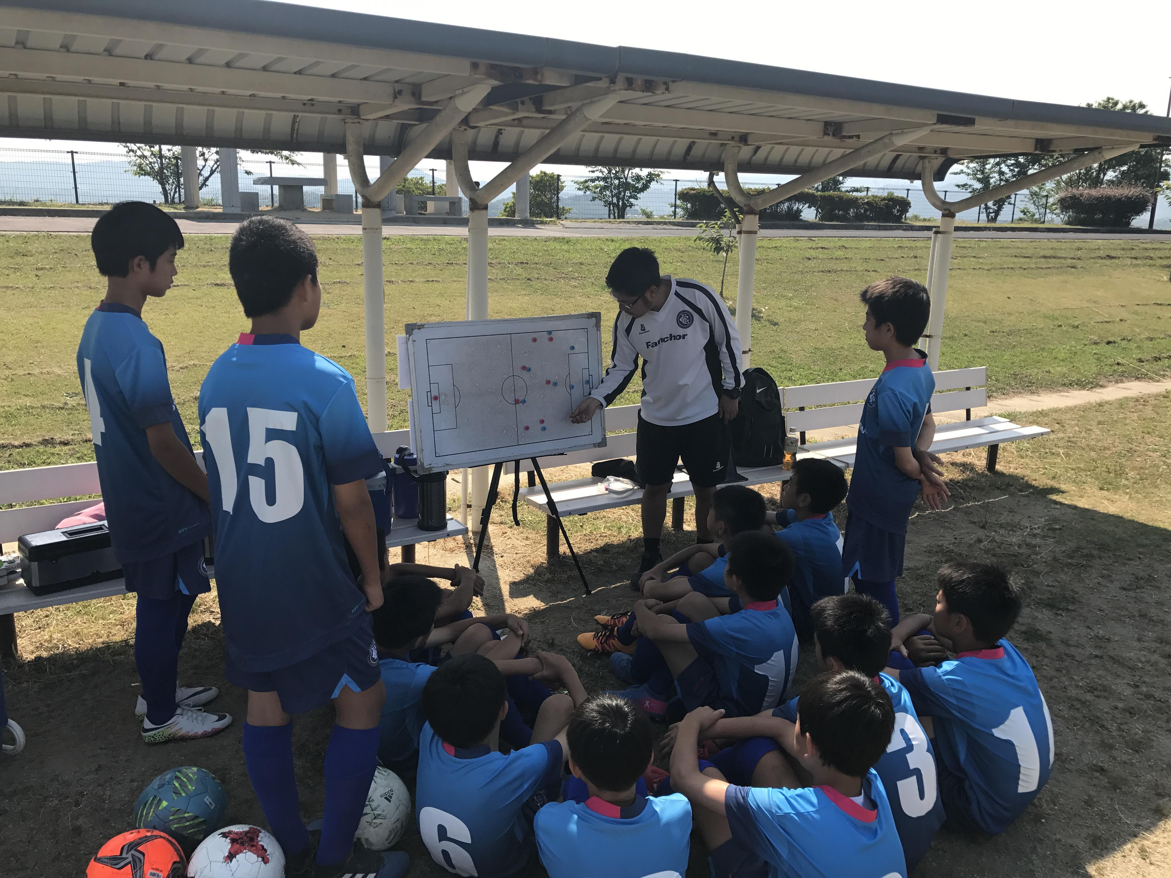 U-13Rojoチーム、マーズ福岡・FCターキー戦! 福岡県ユースサッカーリーグ