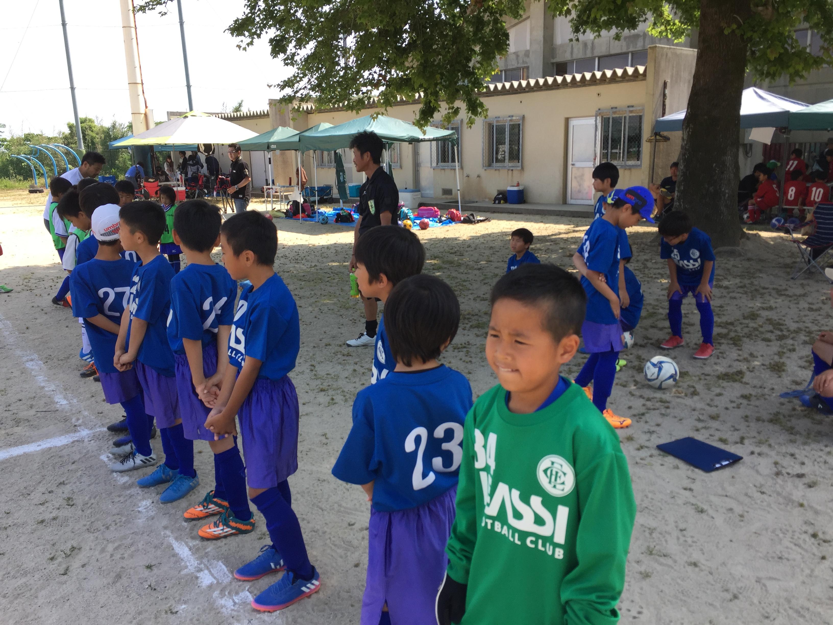 U-10(小学校4年生) 年上の相手へ果敢に挑んだ選手たち!