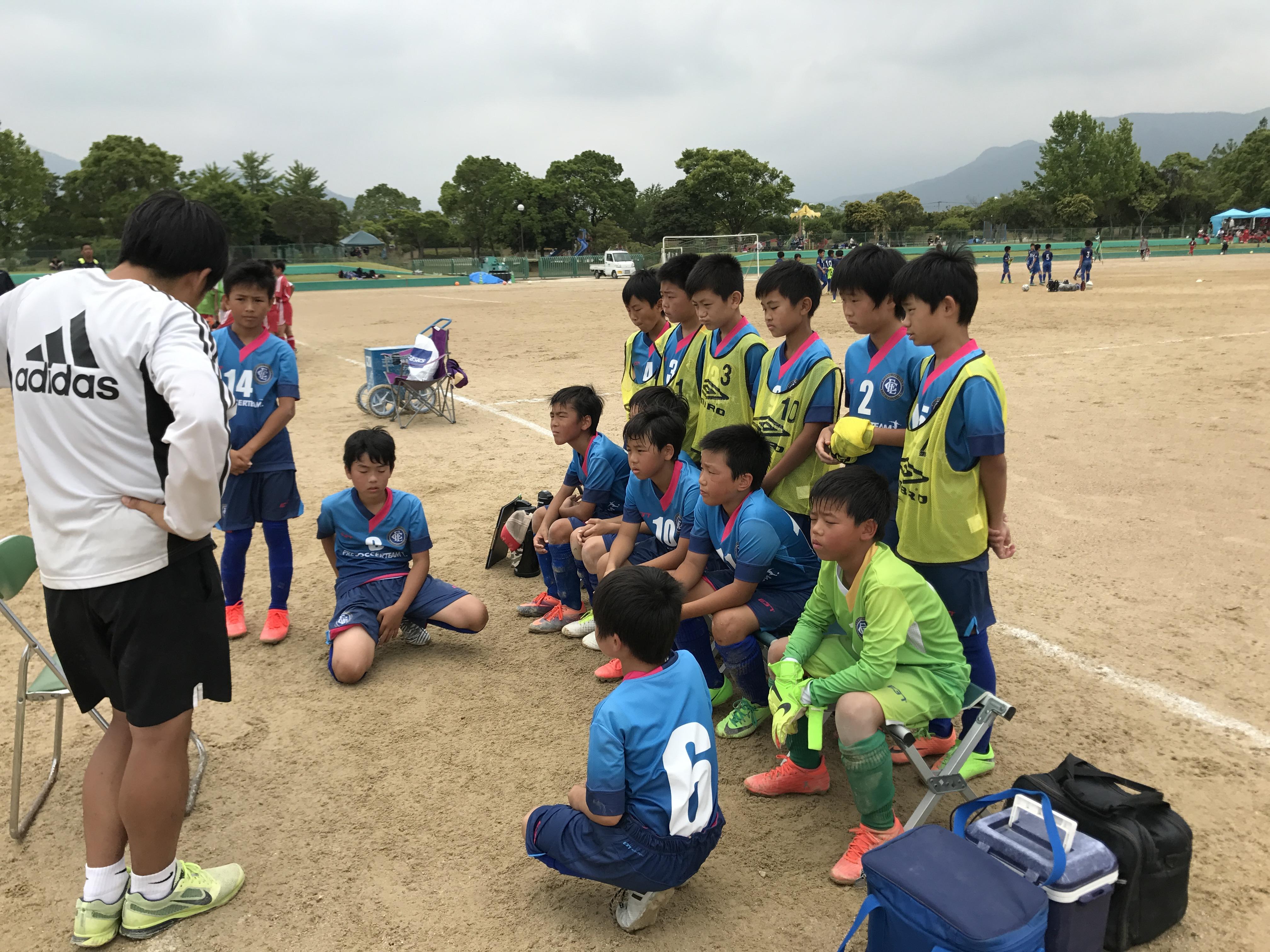 U-11・ファースト 1部リーグ結果 〜2部リーグ降格の入替戦へ〜