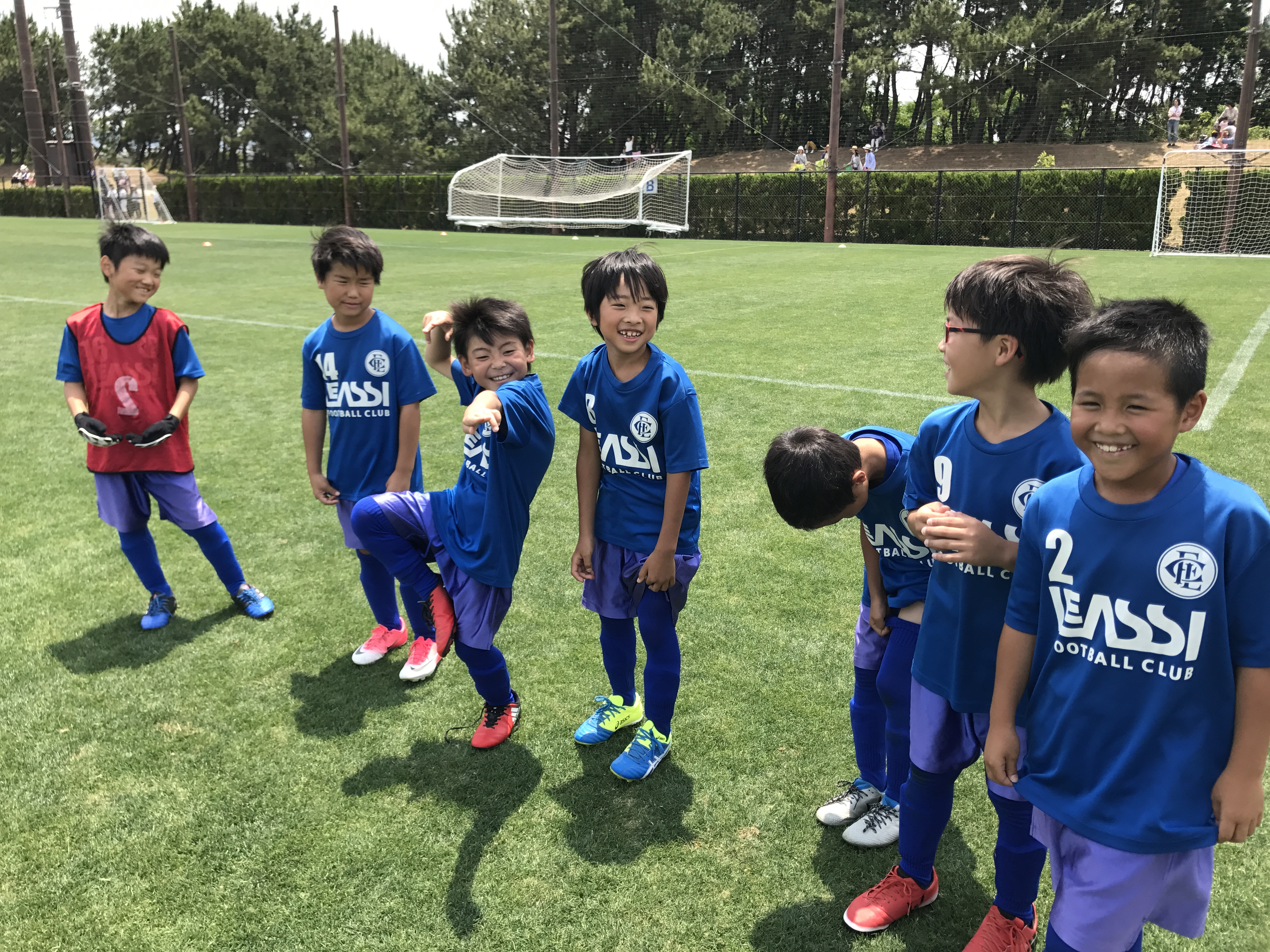 U-10 2nd トレーニングマッチ vs エリア伊都