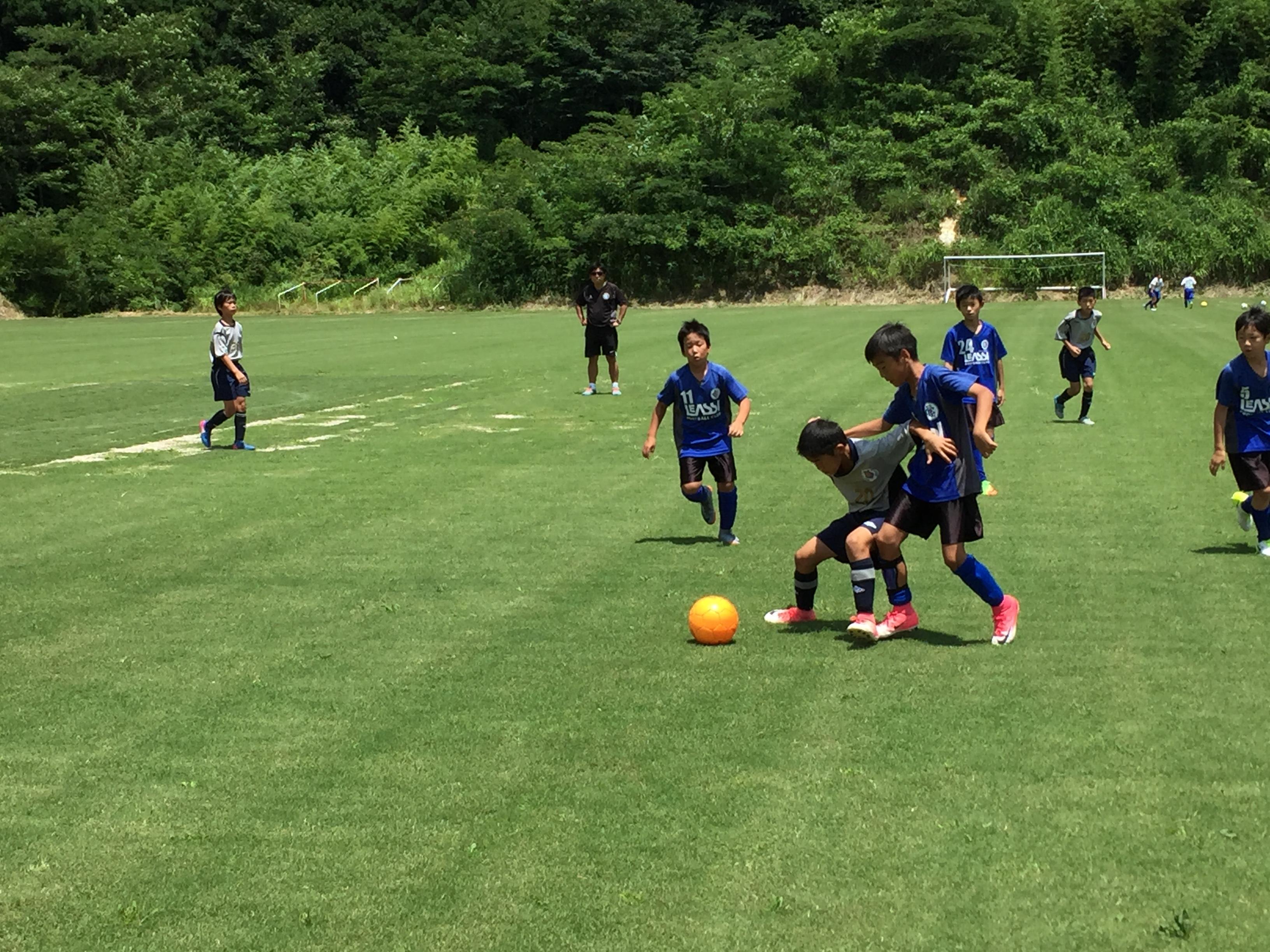 U-11・1st中津江遠征1日目 明日からカップ戦!
