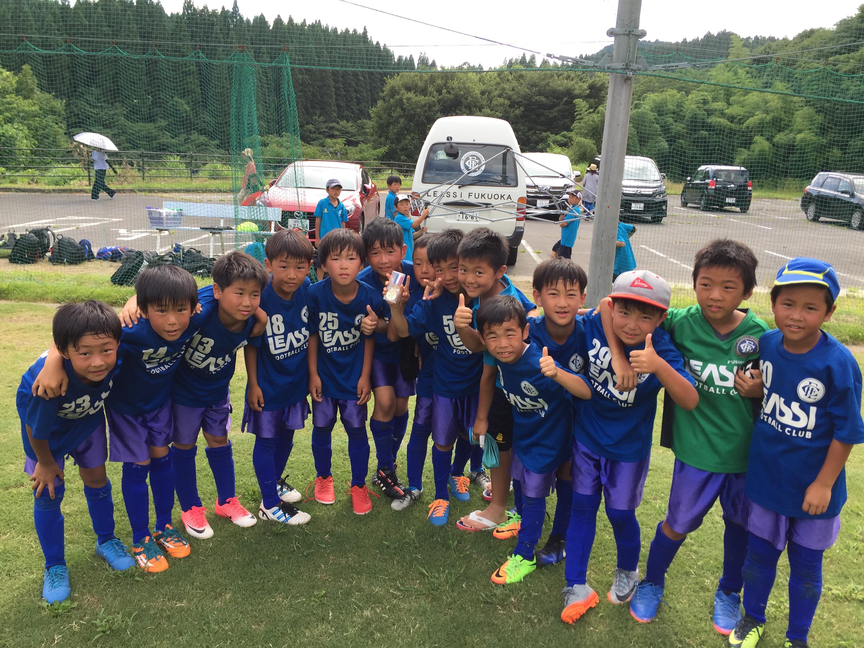U-9 1st中津江遠征最終日試合結果