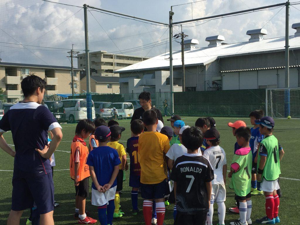 小学生低学年向けサッカークリニックを実施しました! in ペナスタ!