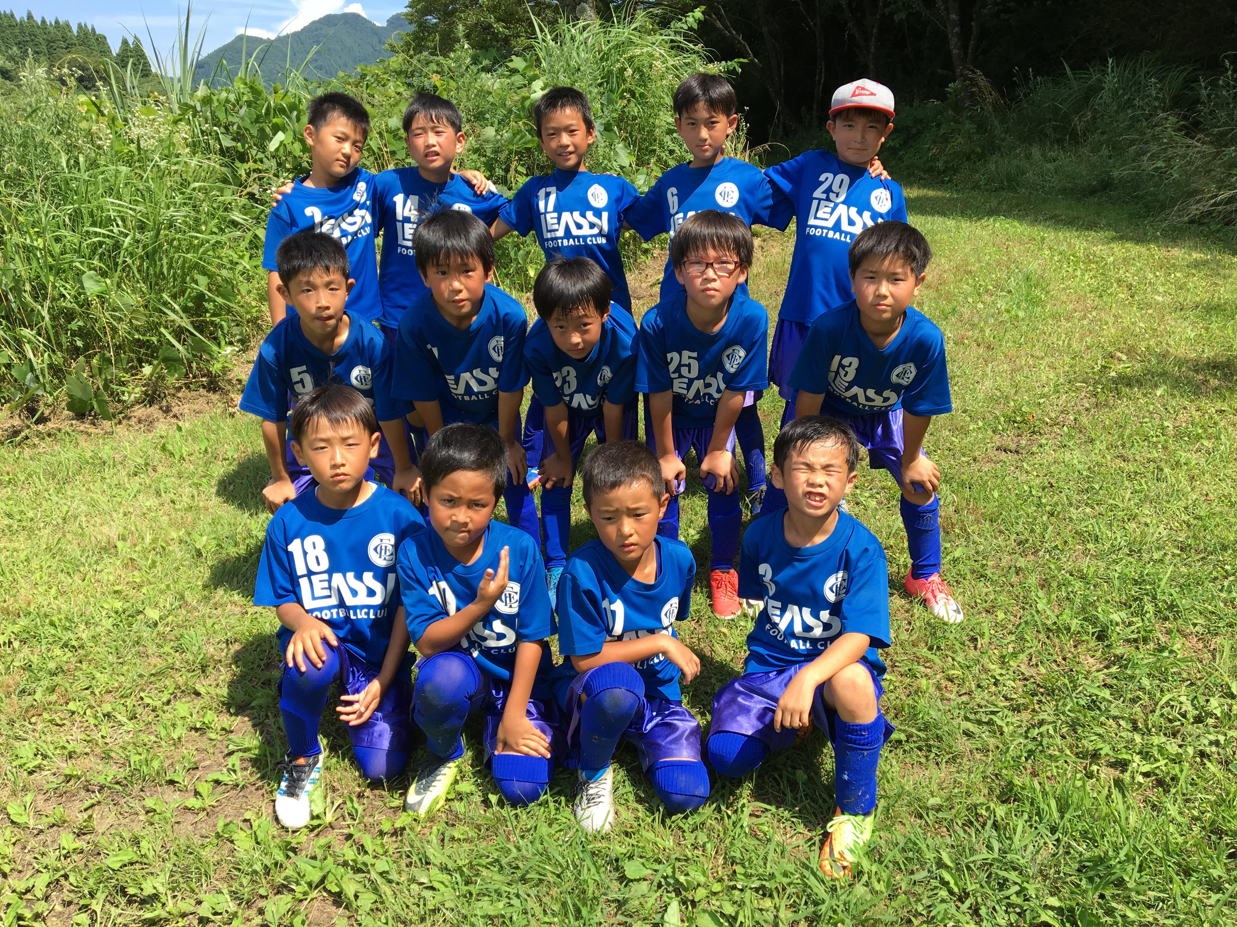 中津江遠征1日目 結果報告 U9 1stチーム