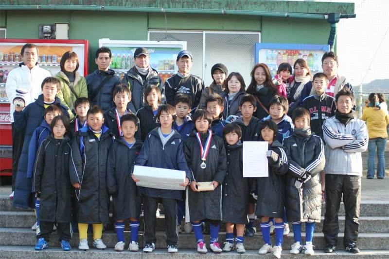 U-12 第3回虹松カップ 準優勝!