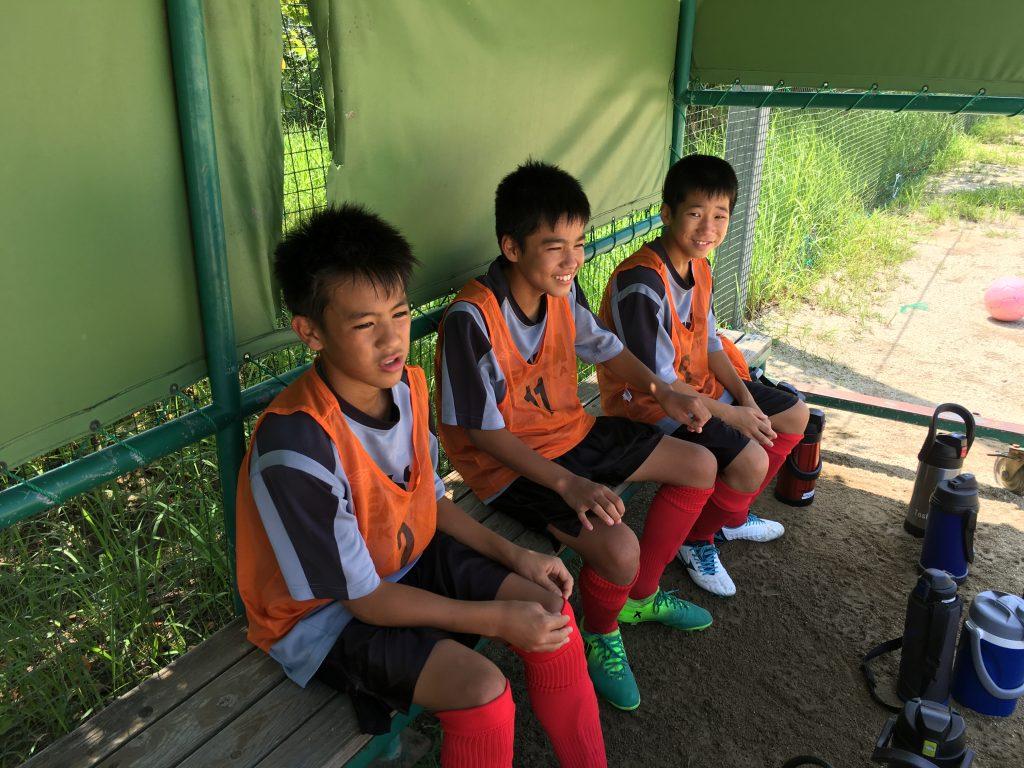U-13Rojo 県リーグ 「バチバチとやりあうこと」 vs ソレイユ、自彊館中