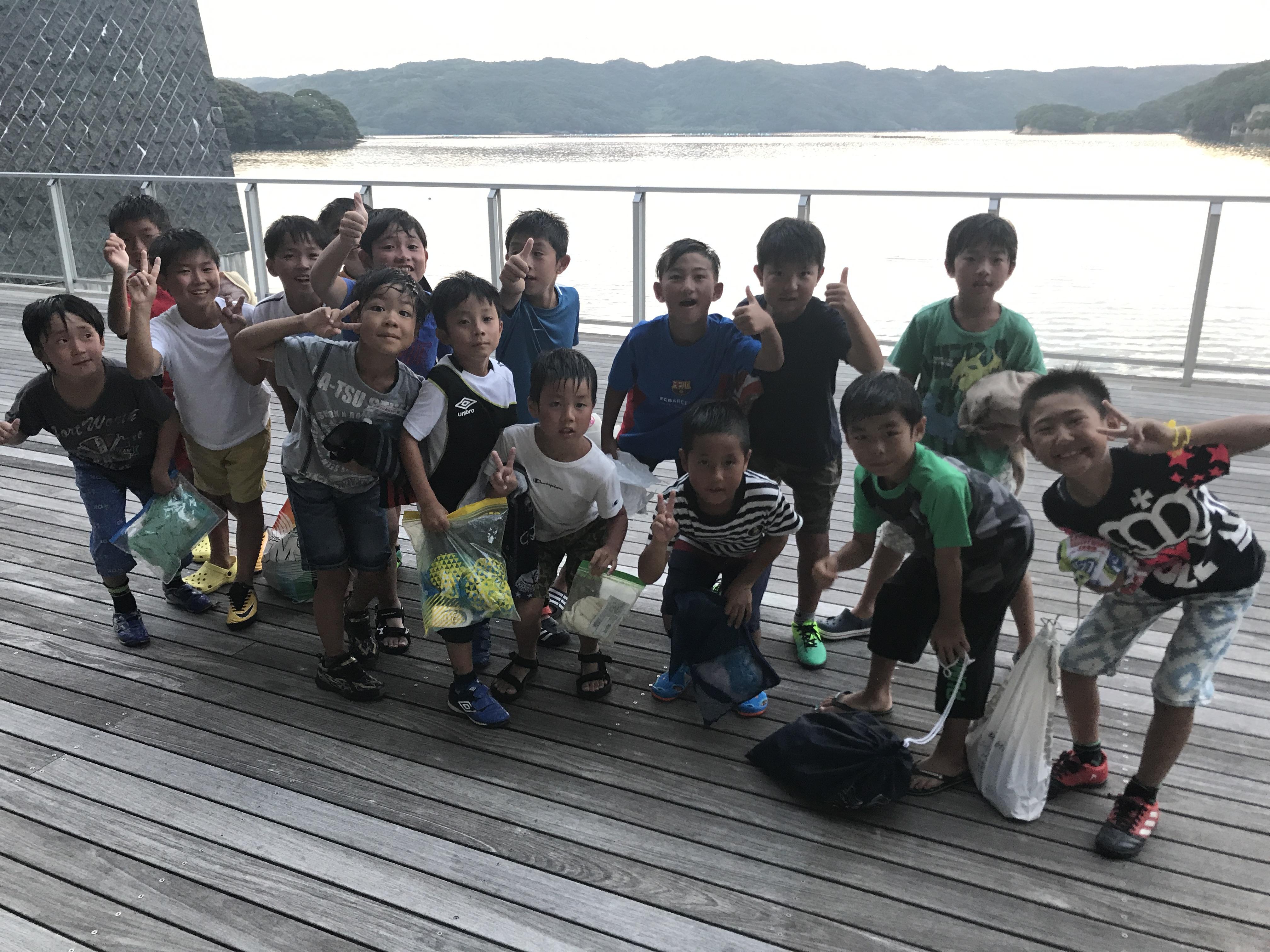 『恐怖の!?』 夏合宿キャンプ/低学年編 フォトギャラリー