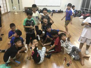 『恐怖の!?』夏合宿キャンプ(低・中学年編)2日目・最終日