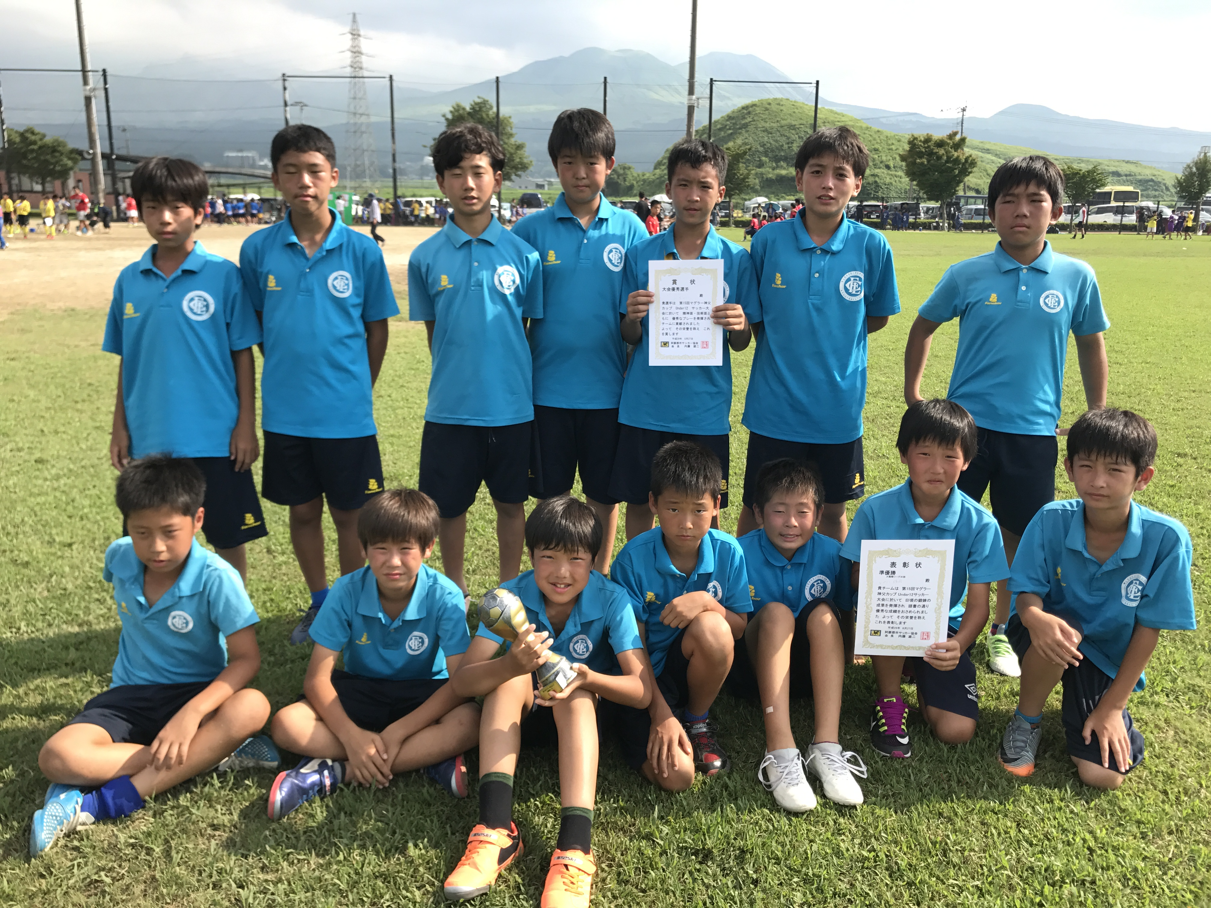 2017年度 U-12 リーグ戦 星取表!