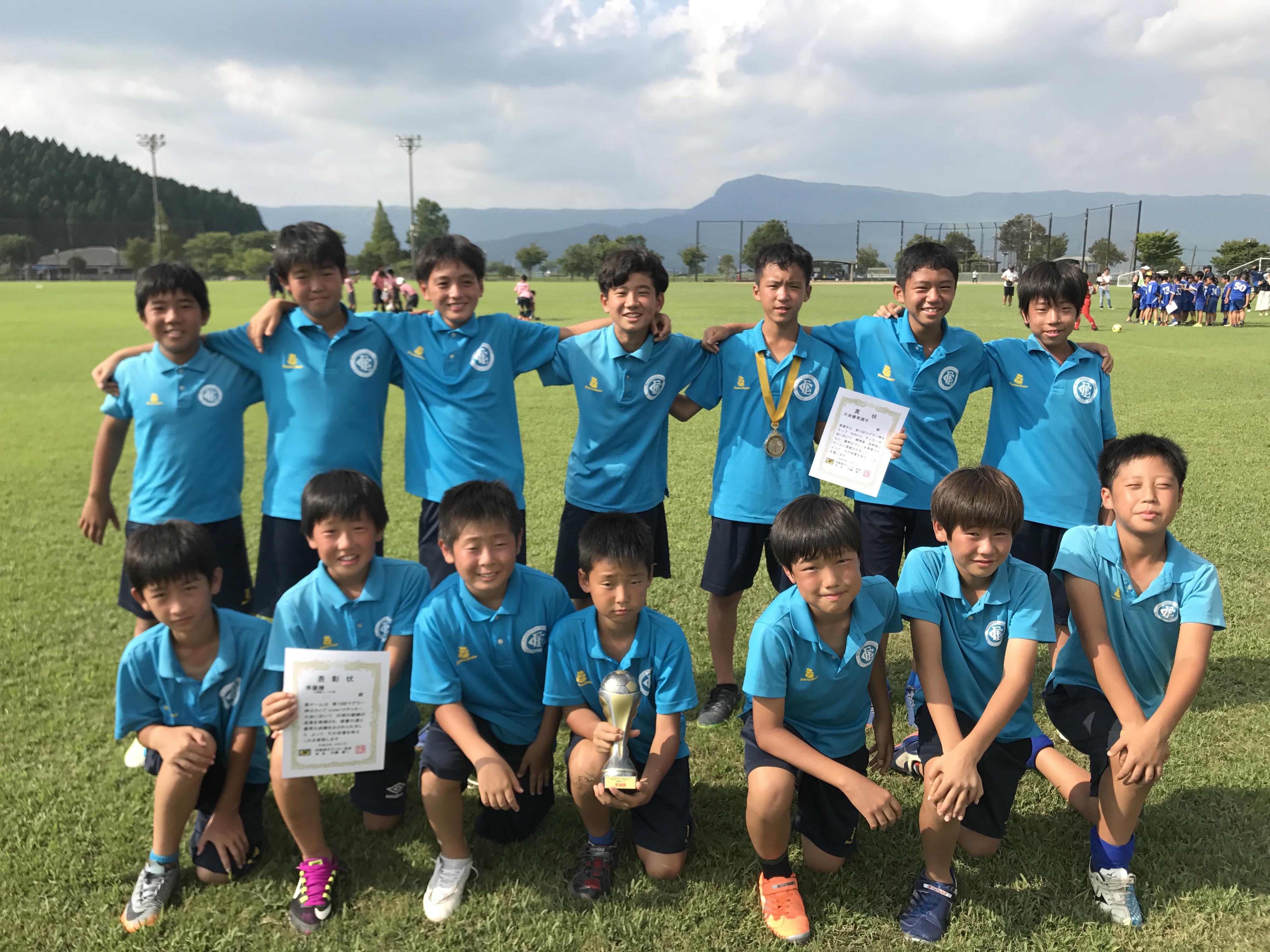 U-12 2ndチーム【熊本・阿蘇 マグラー神父カップ 2日目】