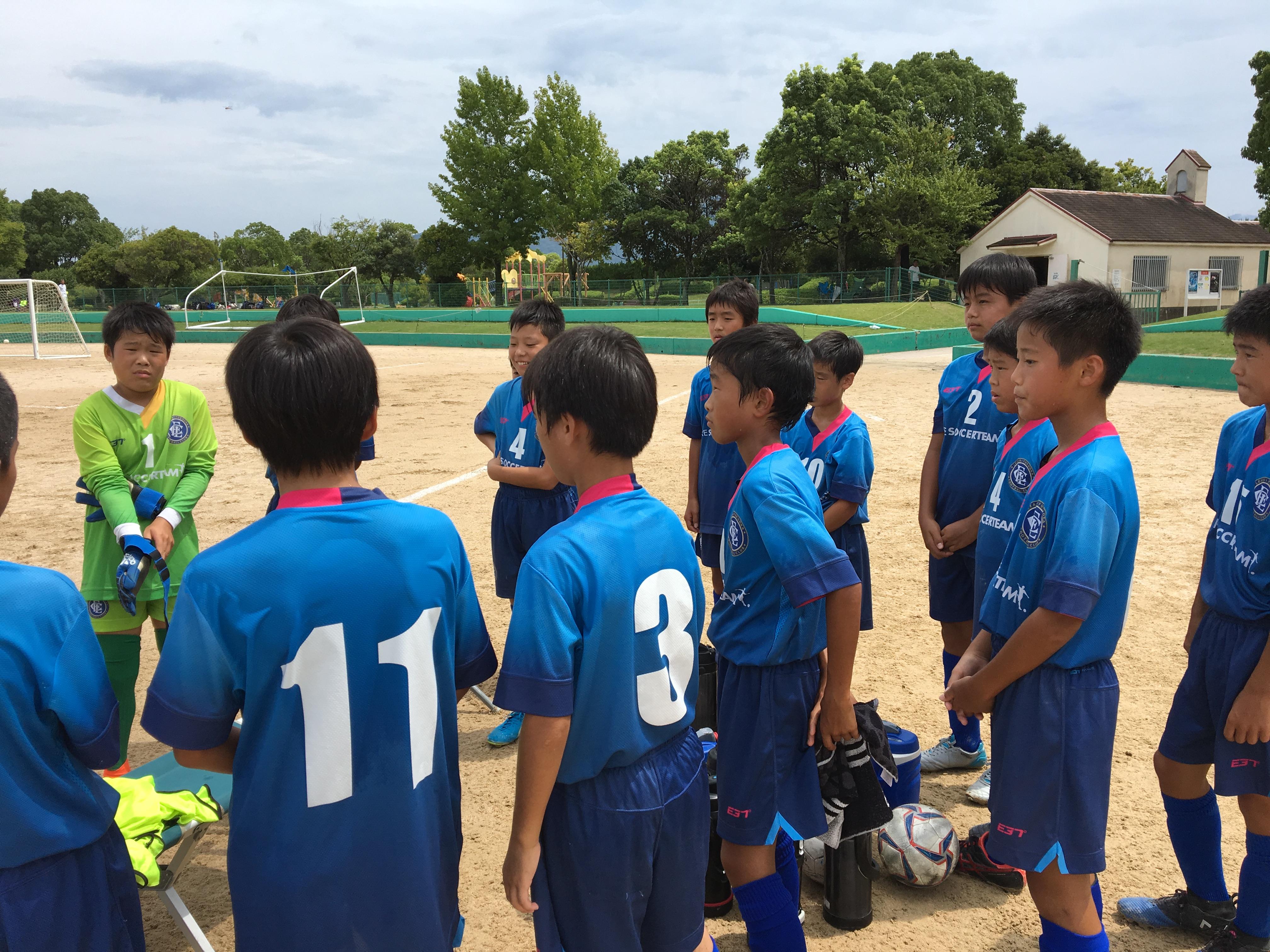 U-12 リーグ戦 星取表(9/16現在)