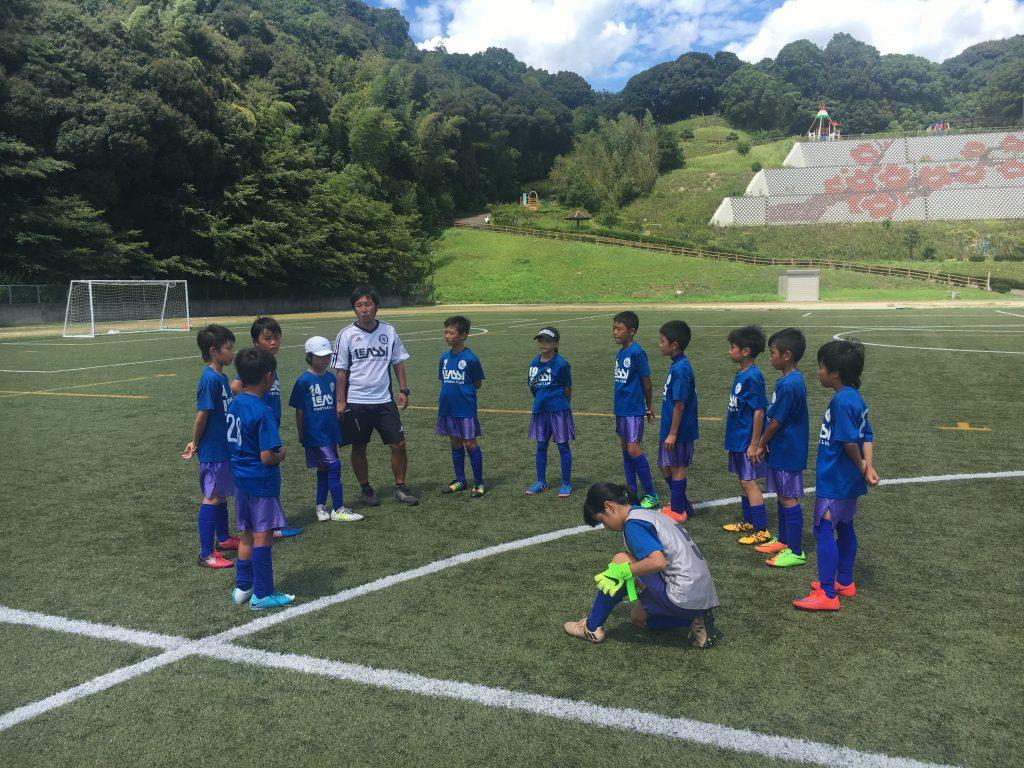 U10 1stチーム 強豪を招いて練習試合を実施、その結果は?!