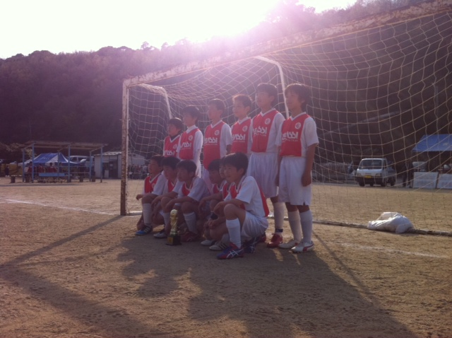 U-12 大分国東遠征 2位リーグ優勝