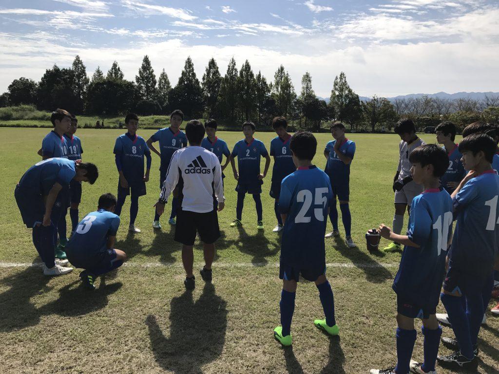 U15チーム 最後の公式戦となる県クラブトーナメントでR16に臨む!