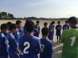 U-14 支部リーグ vs 東福岡 フィジカル差はあったが引き分け