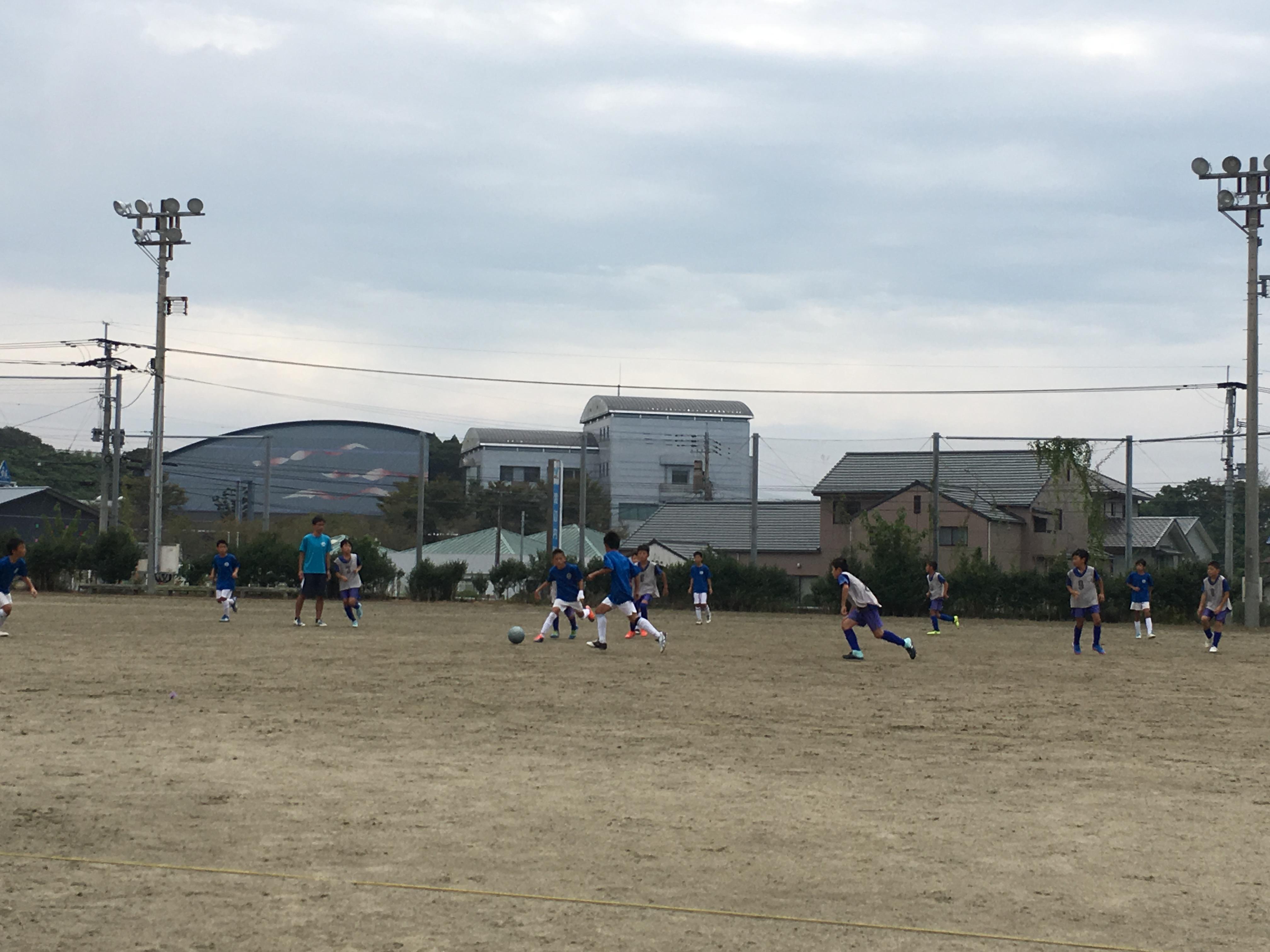 U-11 TRM vs 唐津シティFC 新人戦福岡支部ベスト8(県大会出場)を目指して
