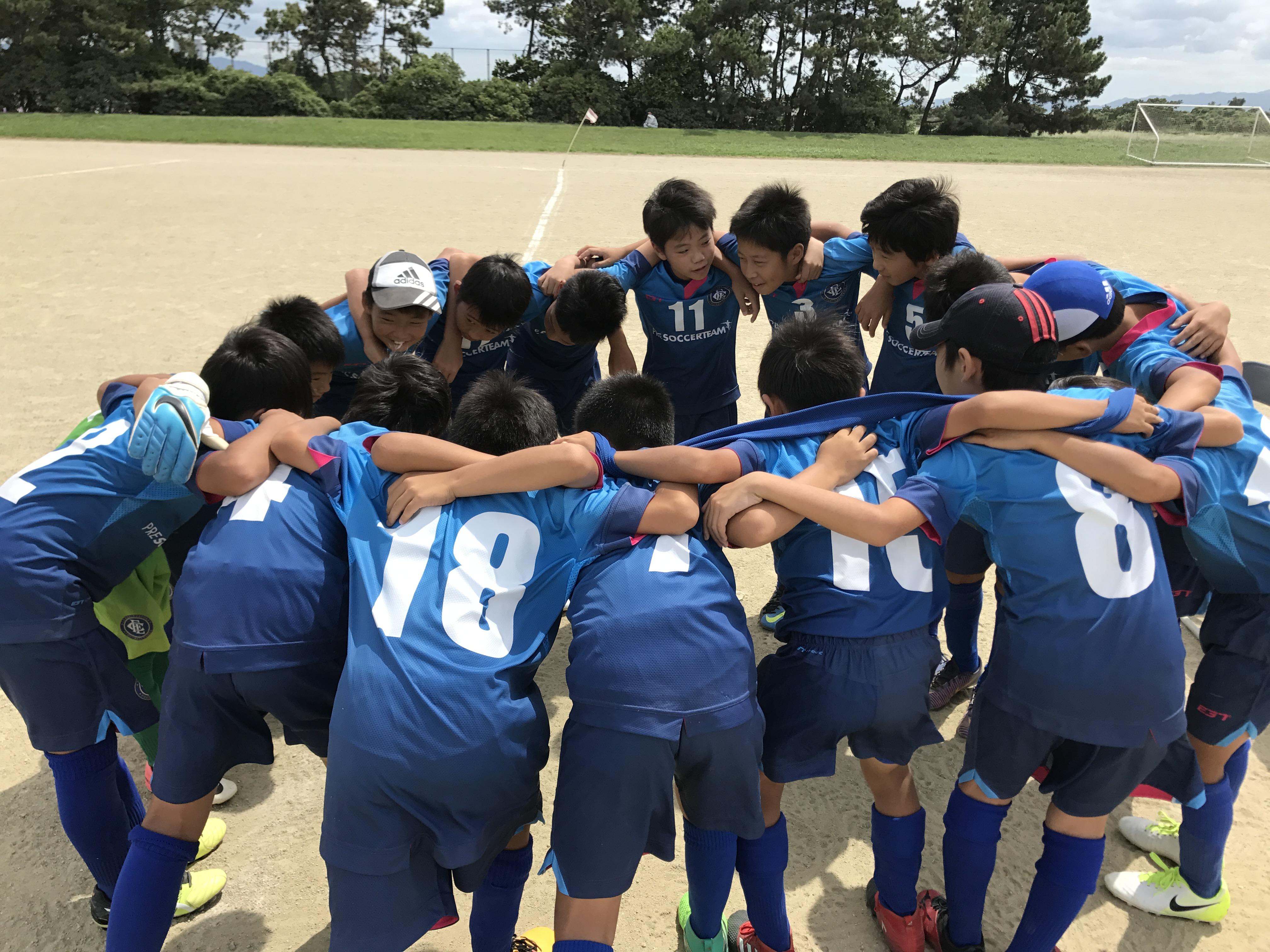 U-11 2ndチーム 九州少年サッカー大会 福岡支部予選リーグ突破!