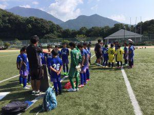 U12 2nd vs 弥生、原小 トレーニングマッチ