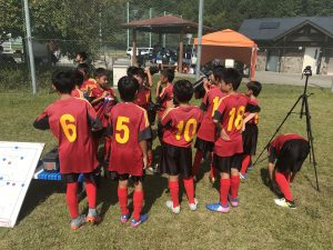 U-11 1stトレーニングマッチ vs長住