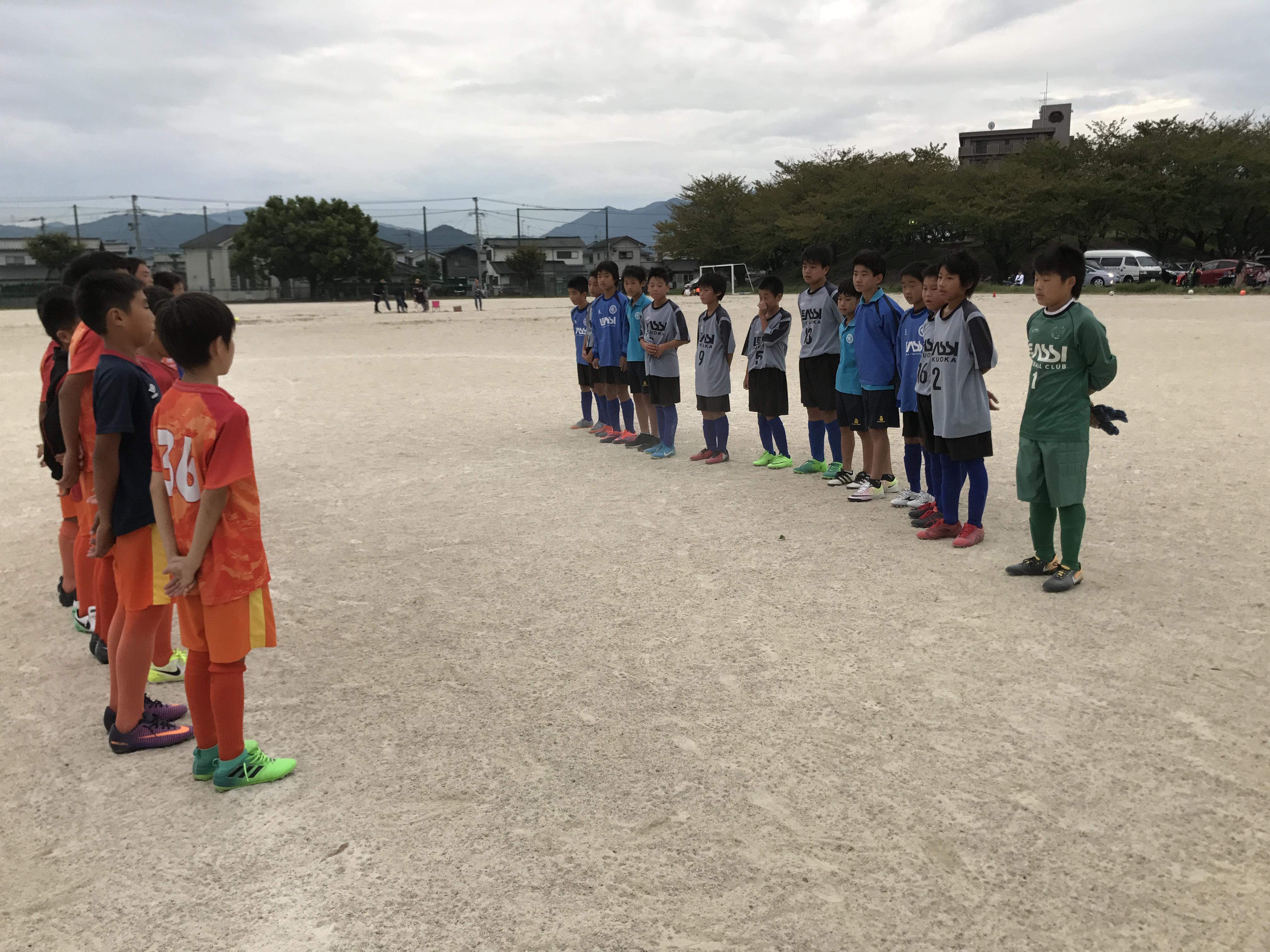 U12 vs エリア伊都 トレーニングマッチ 全日に向けて