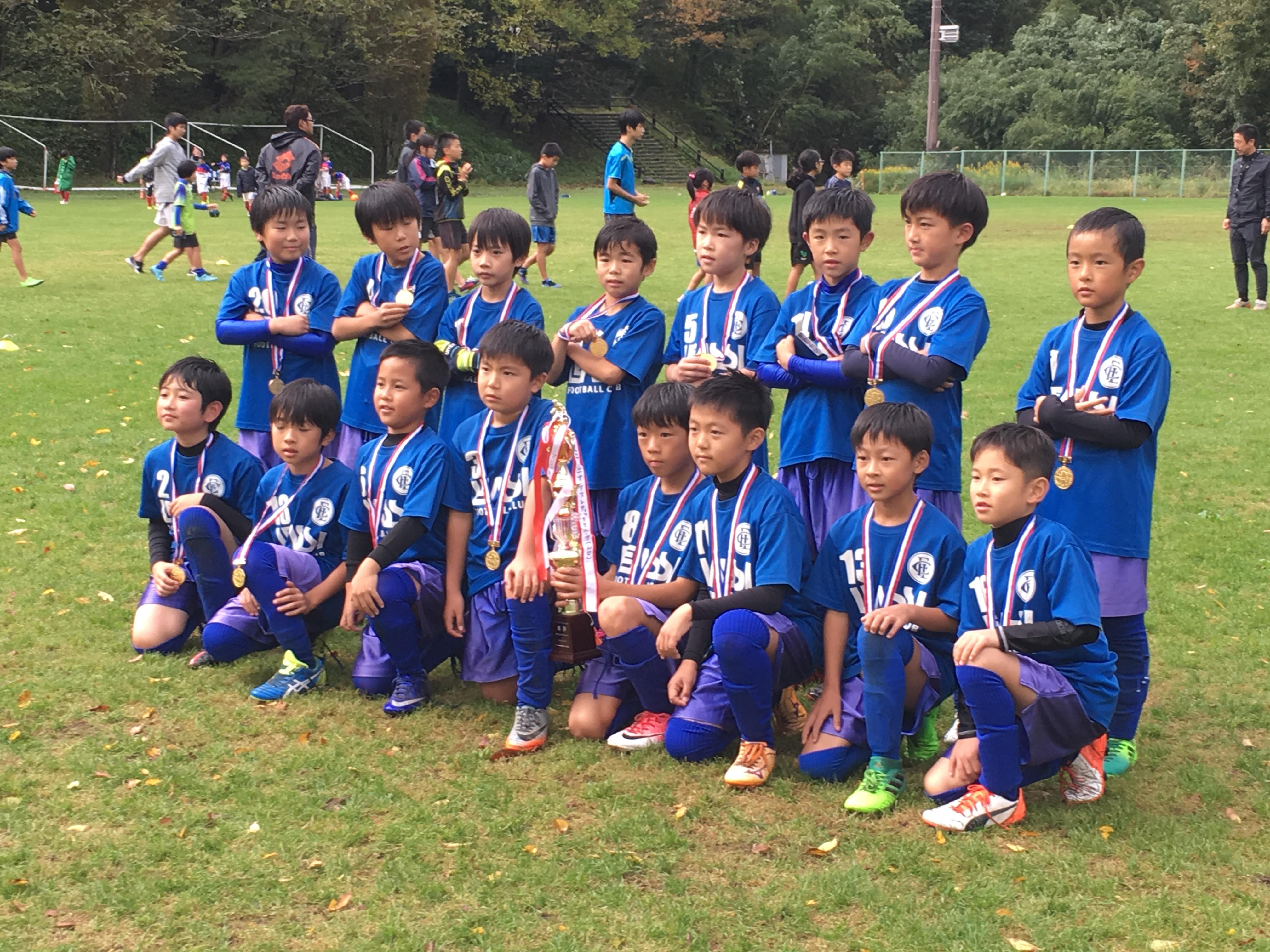 U9 贈り物のくわはらカップ in中津江 優勝!