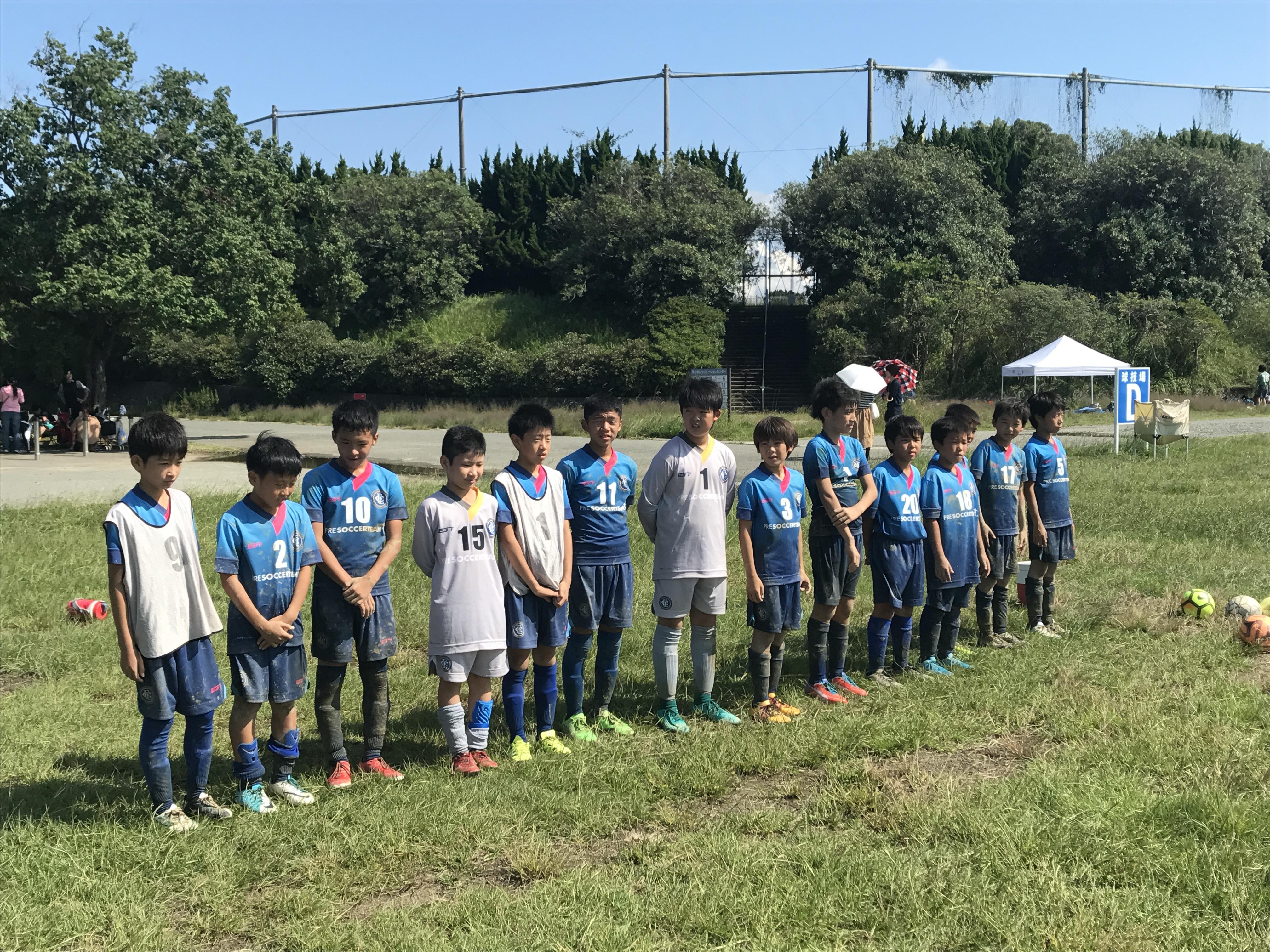 U-12 2nd 【4部リーグ 第13/14節 vs 今津、壱岐B】リーグ戦最終日!