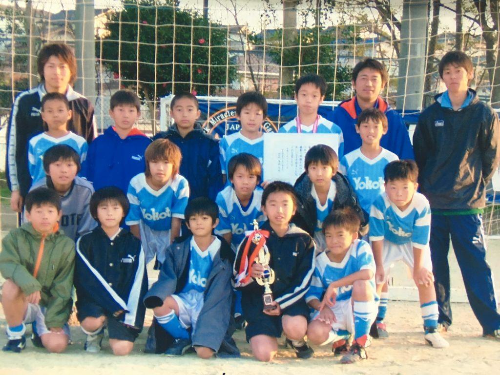 OB・OGたちの今…2005年度卒 松川君(キャプテン) 『プロを目指して。高校選手権全国大会へ出場』