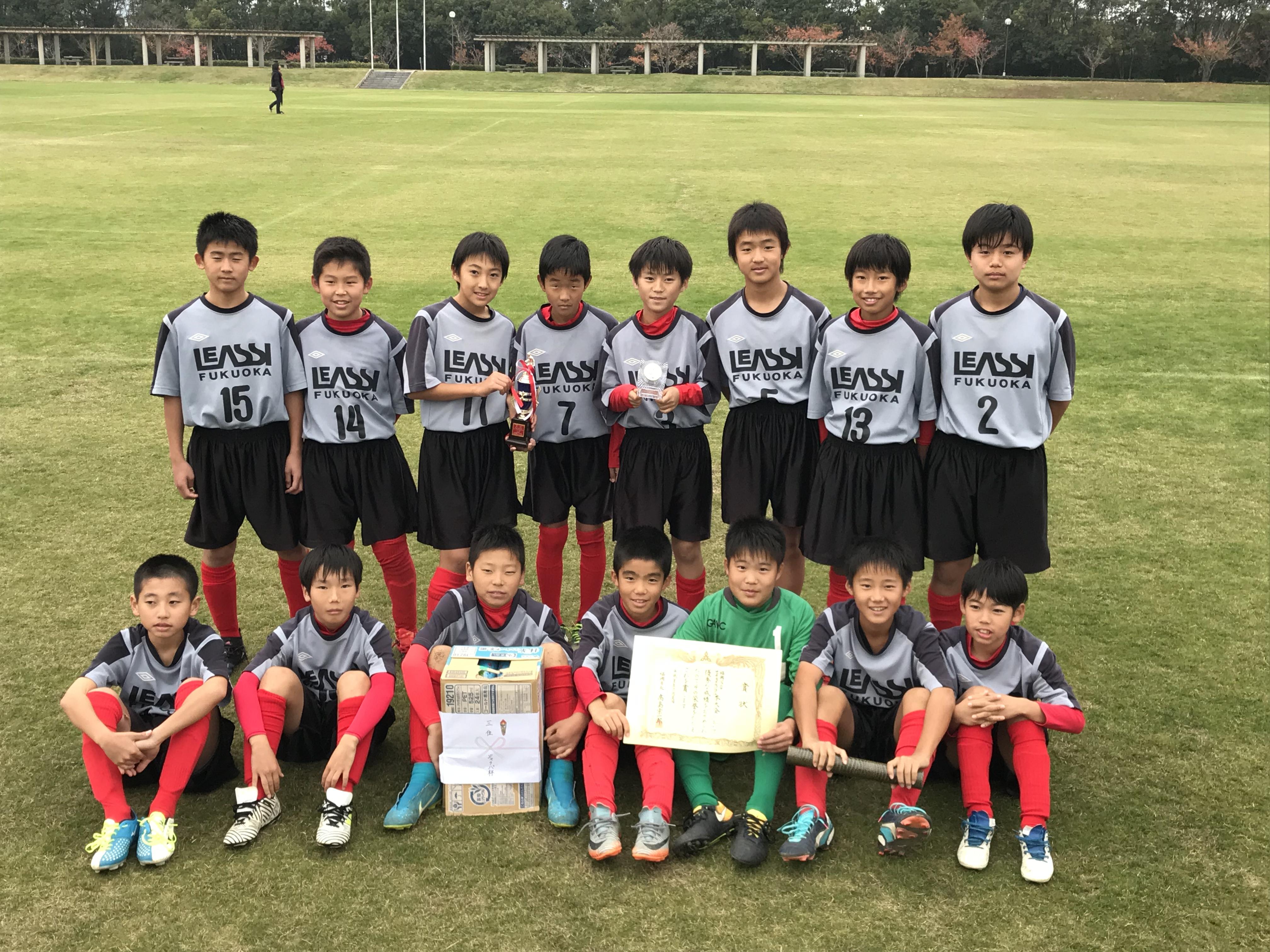 第39回福岡市長杯少年サッカー大会決勝トーナメント組み合わせ決定!