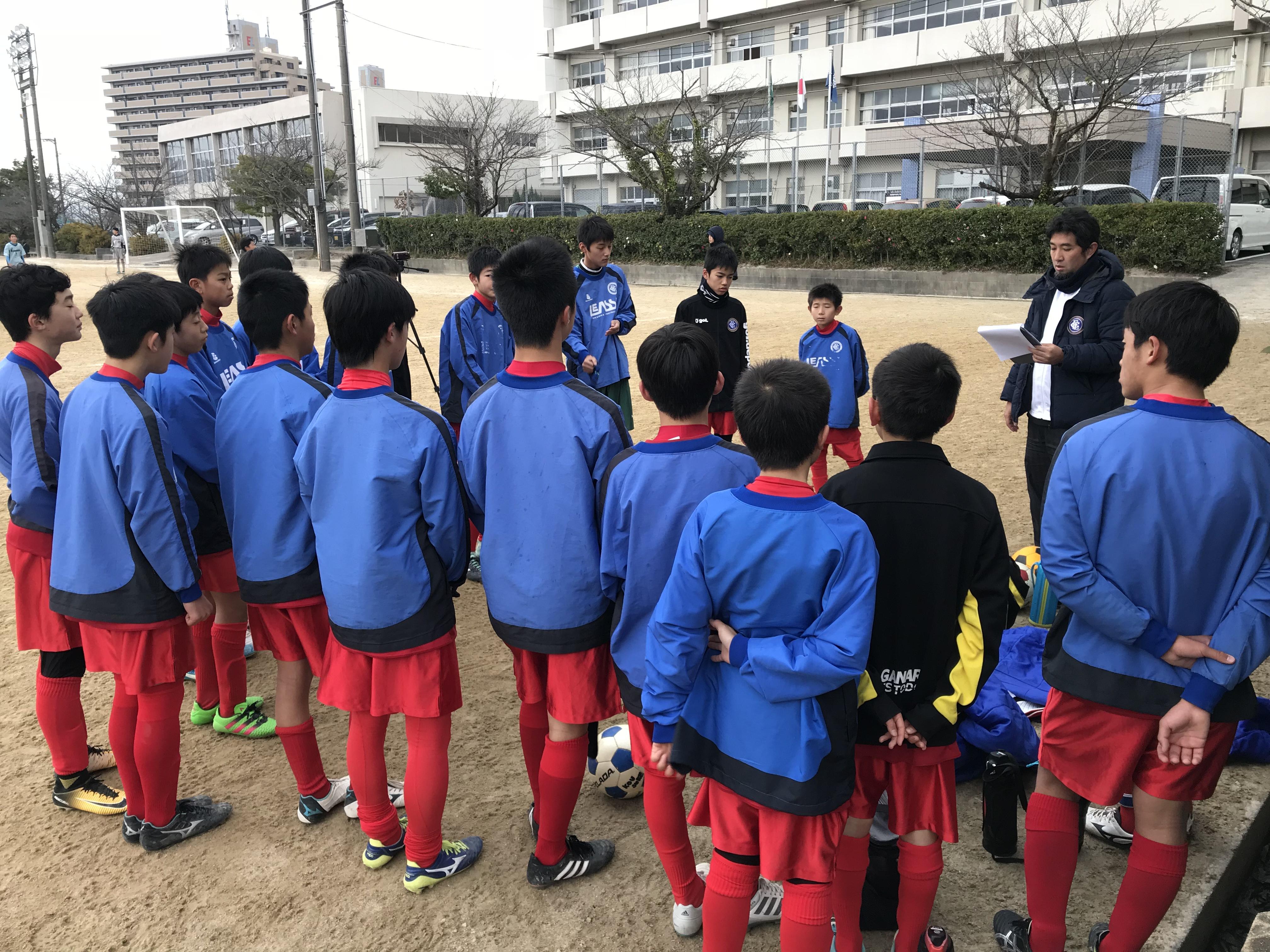 ジュニアユース トップチーム vs 春日イーグルス、筑紫野中