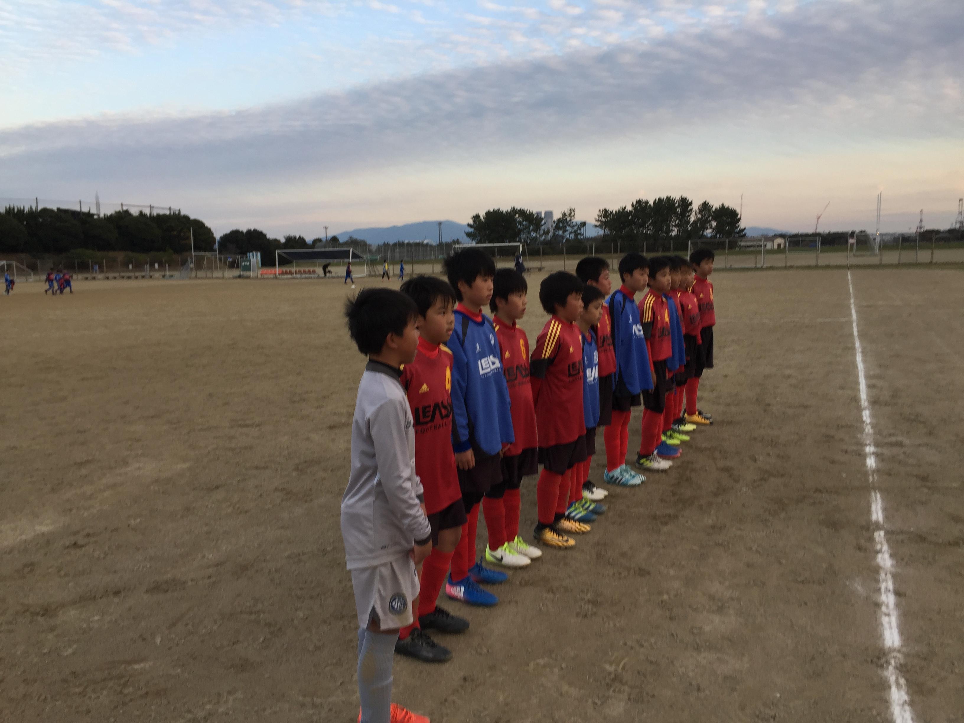 U-11 後期2部リーグ開幕速報(vs東福岡、vs東月隈)