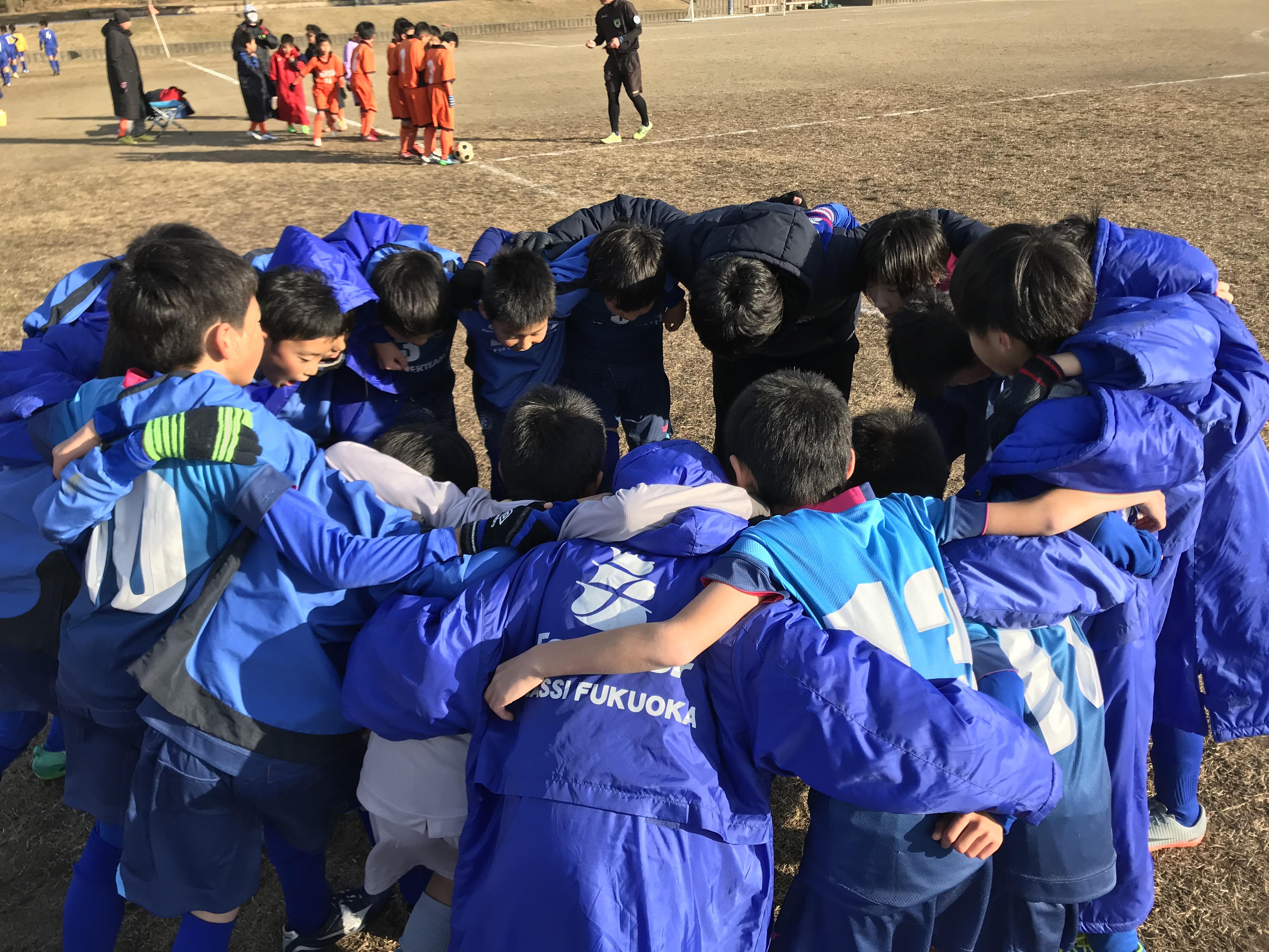 U-11・セカンド 後期リーグ最終節を勝利で!