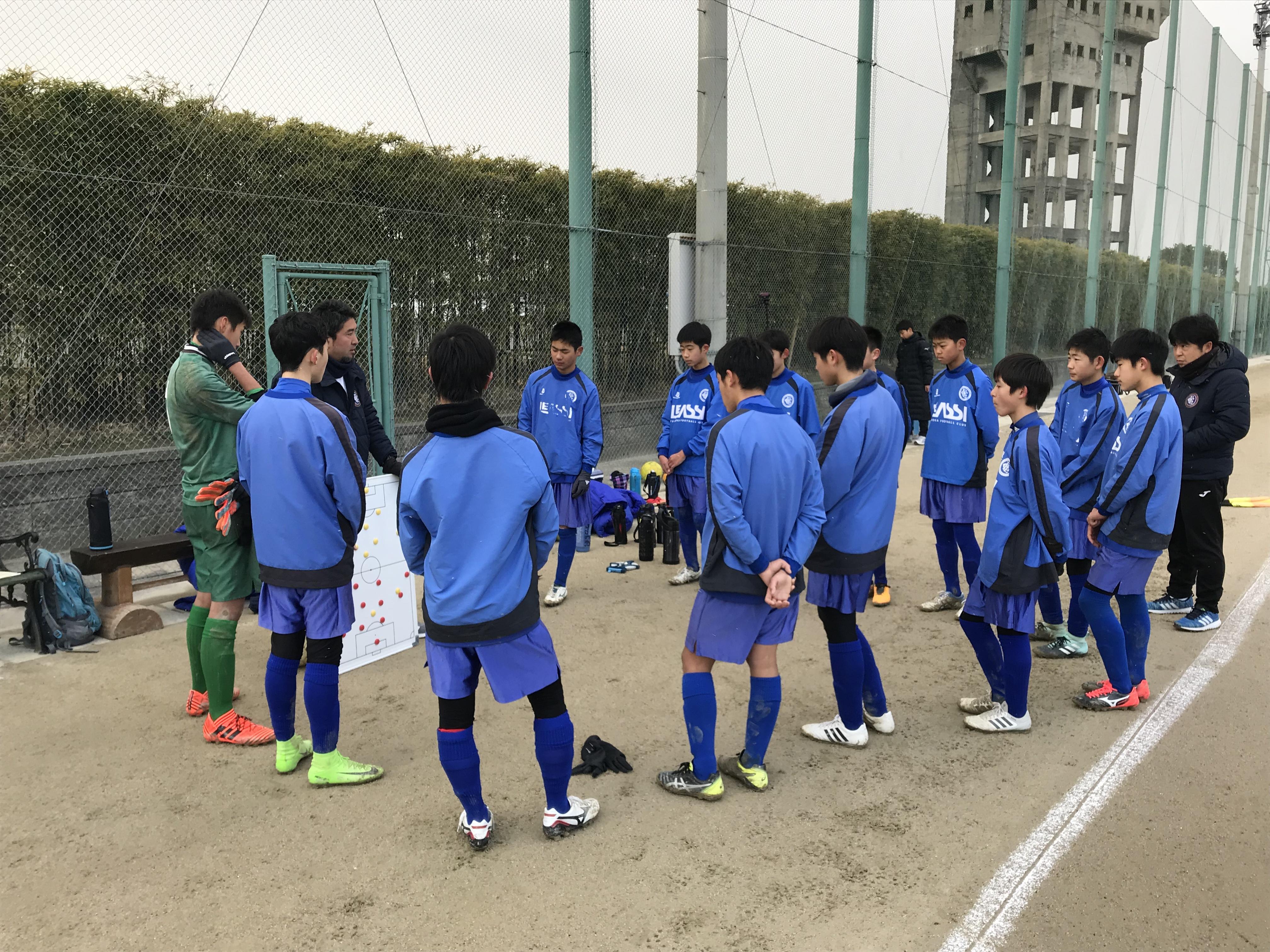U14 ジュニアユース TRM vs 自彊館中学校