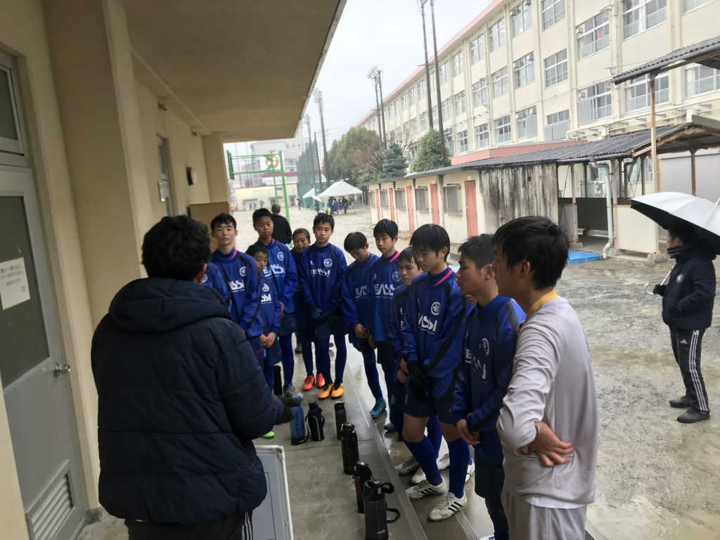 ジュニアユーストップチーム 福岡市長杯 予選最終日 vs ゴラッソ舞鶴、箱崎中学校