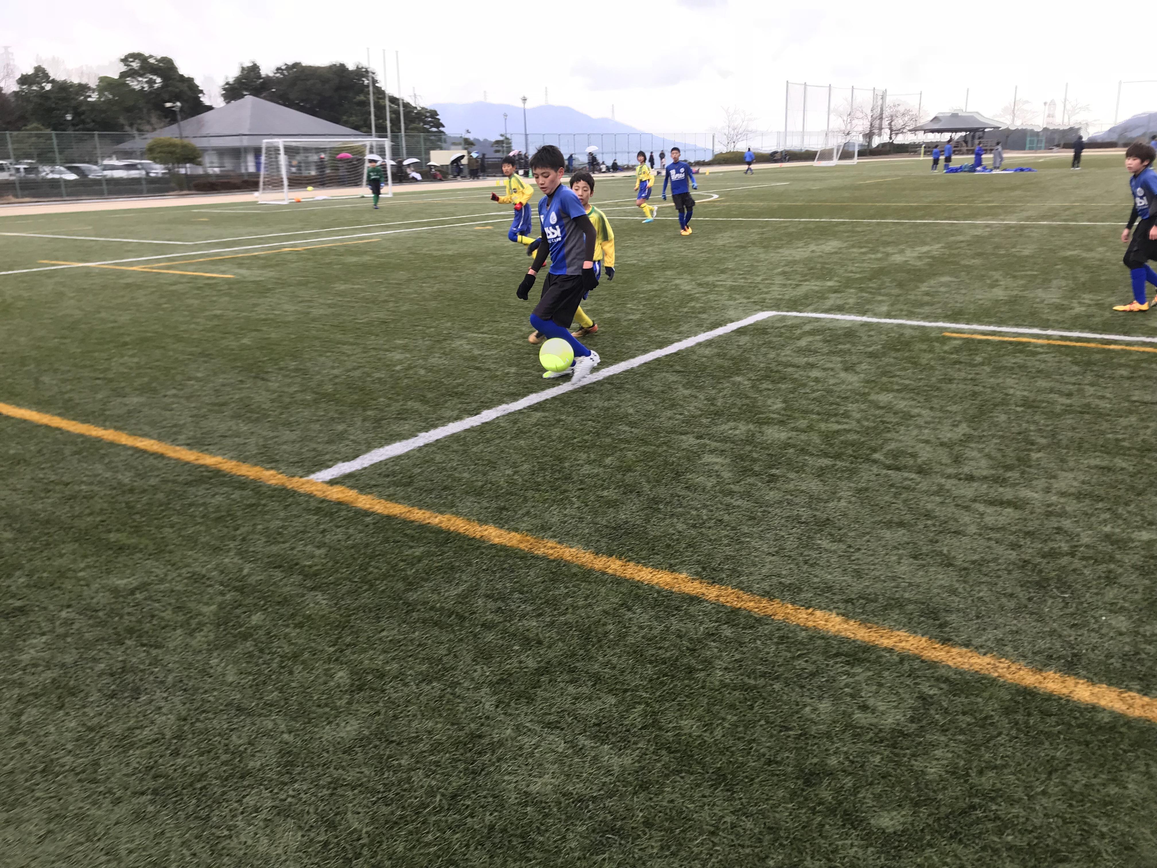 U-12 2nd TRM vs 油山カメリア-福岡市長杯まで残り1週間!