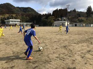 ジュニアユース2ndトレーニングマッチ in熊本