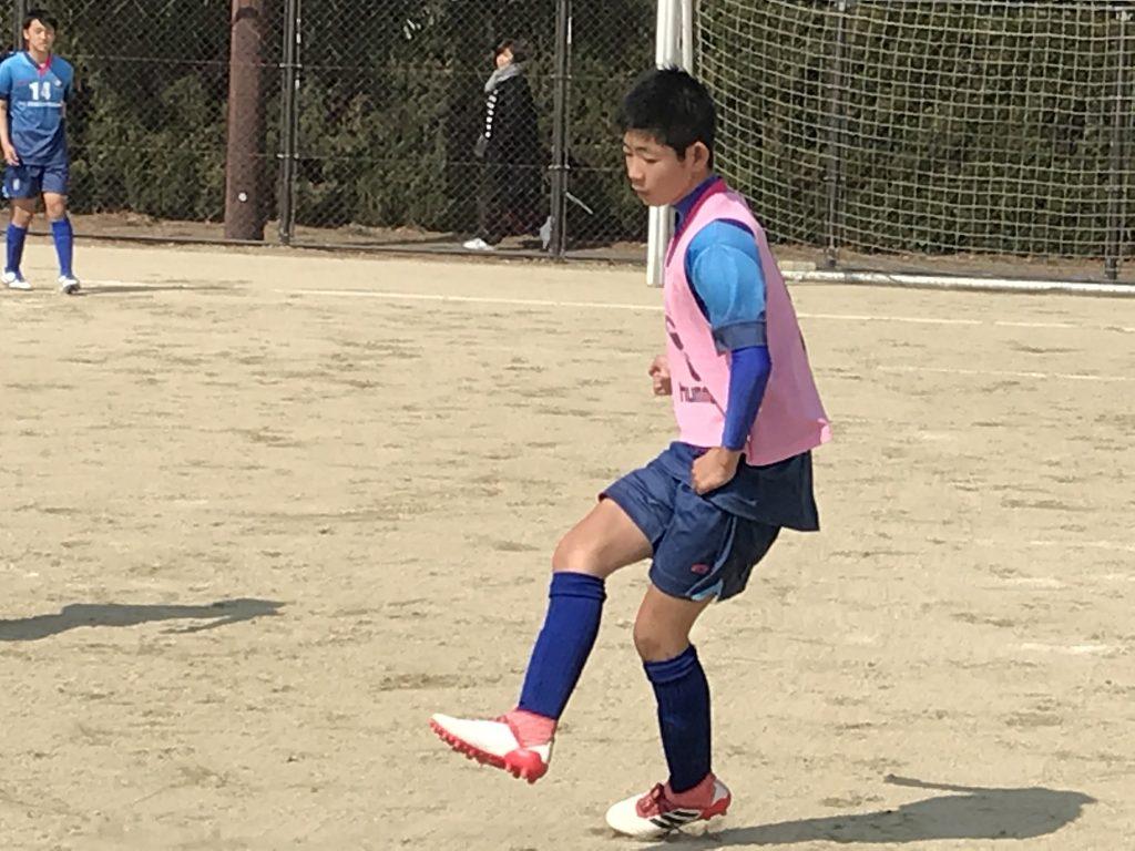 ジュニアユーストップ 県リーグ 開幕 vs FUT6