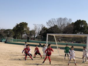 U-10 トレーニングマッチ vs 龍南・田村マーズ