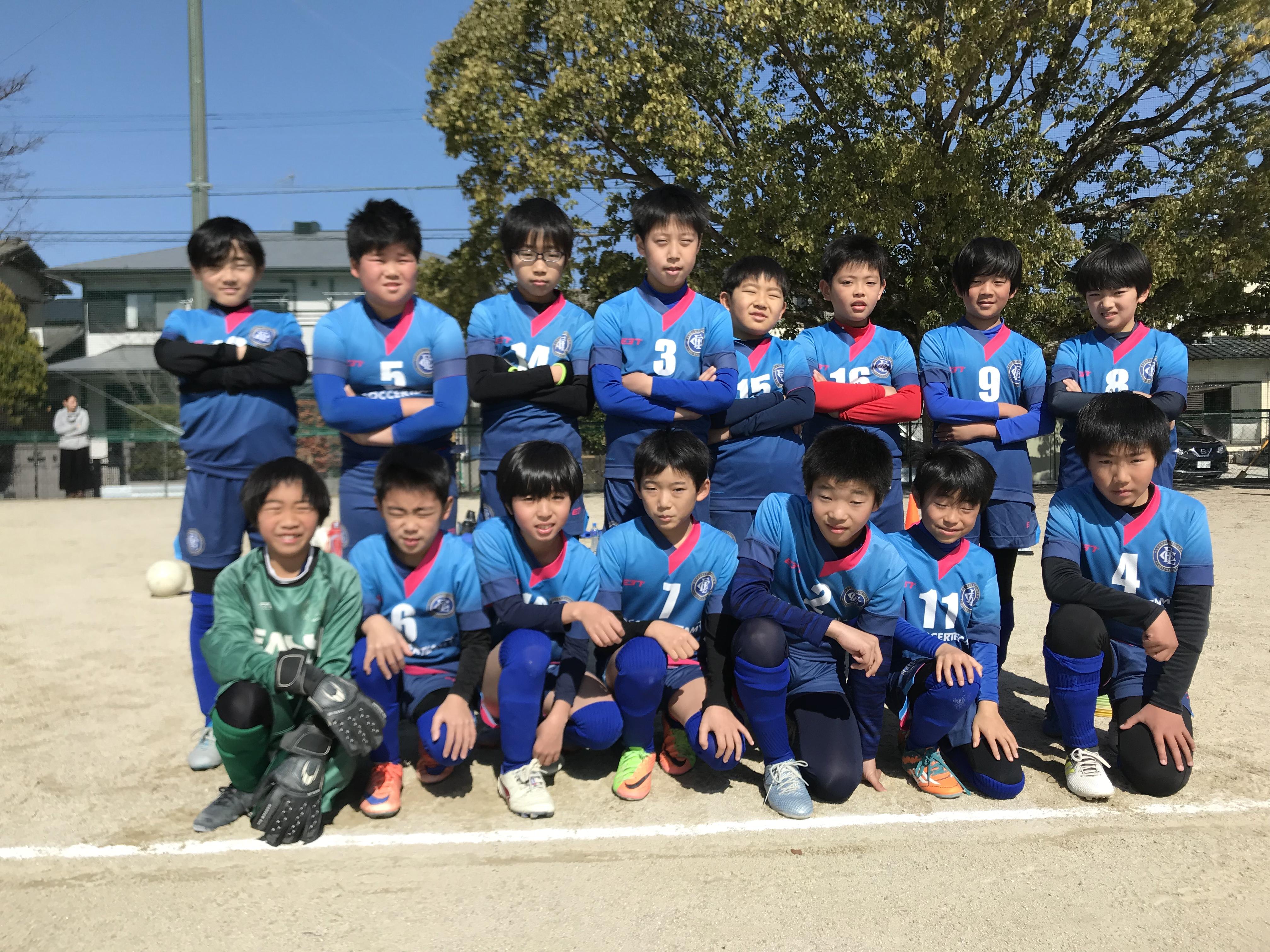 U-11 3rdチーム 4部リーグ最終節 vs けご